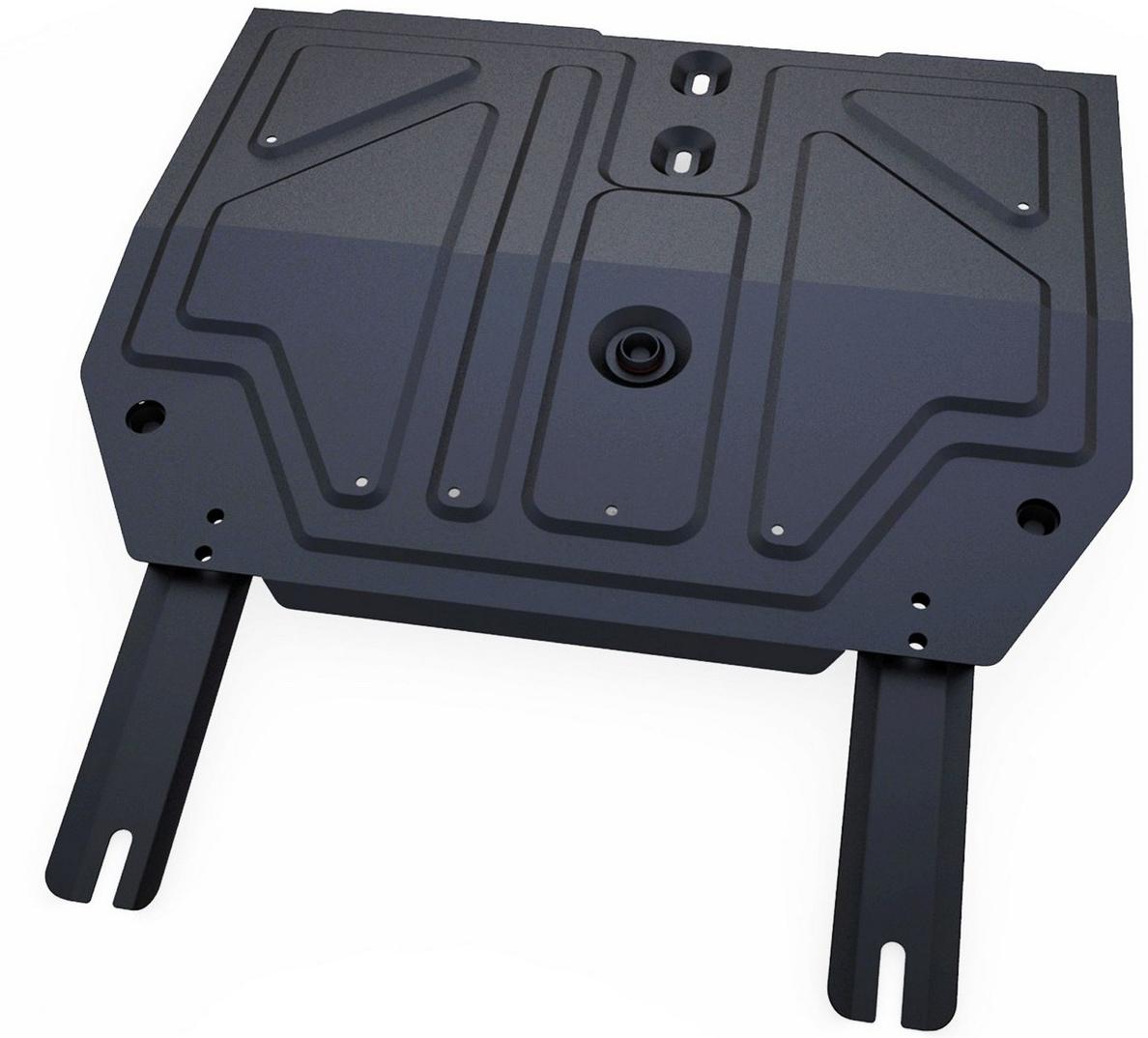 Купить Защита картера и КПП Автоброня Chery Tiggo FL 2013-, сталь 2 мм