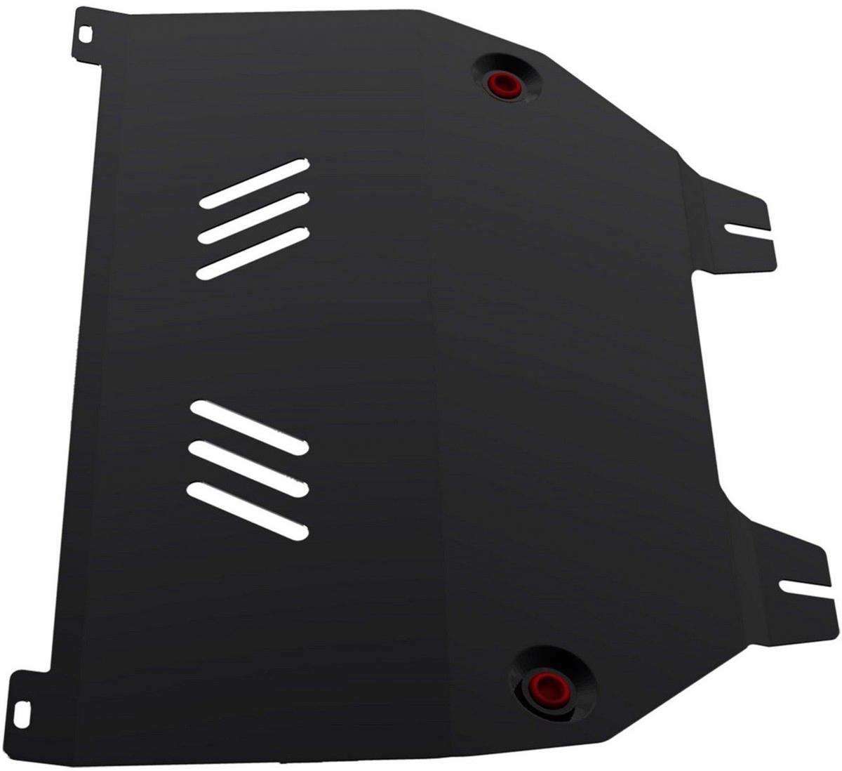 Защита картера и КПП Автоброня Citroёn C4 2006-2011 2011-/Peugeot 308 2008-/Peugeot 408 2012-, сталь 2 мм111.01203.2Защита картера и КПП Автоброня для Citroёn C4, V - 1,6; 2,0 2006-2011 2011-/Peugeot 308, V - 1,6 2008-/Peugeot 408 2012-, сталь 2 мм, 111.01203.2Стальные защиты Автоброня надежно защищают ваш автомобиль от повреждений при наезде на бордюры, выступающие канализационные люки, кромки поврежденного асфальта или при ремонте дорог, не говоря уже о загородных дорогах. - Имеют оптимальное соотношение цена-качество. - Спроектированы с учетом особенностей автомобиля, что делает установку удобной. - Защита устанавливается в штатные места кузова автомобиля. - Является надежной защитой для важных элементов на протяжении долгих лет. - Глубокий штамп дополнительно усиливает конструкцию защиты. - Подштамповка в местах крепления защищает крепеж от срезания.Толщина стали 2 мм. В комплекте инструкция по установке.