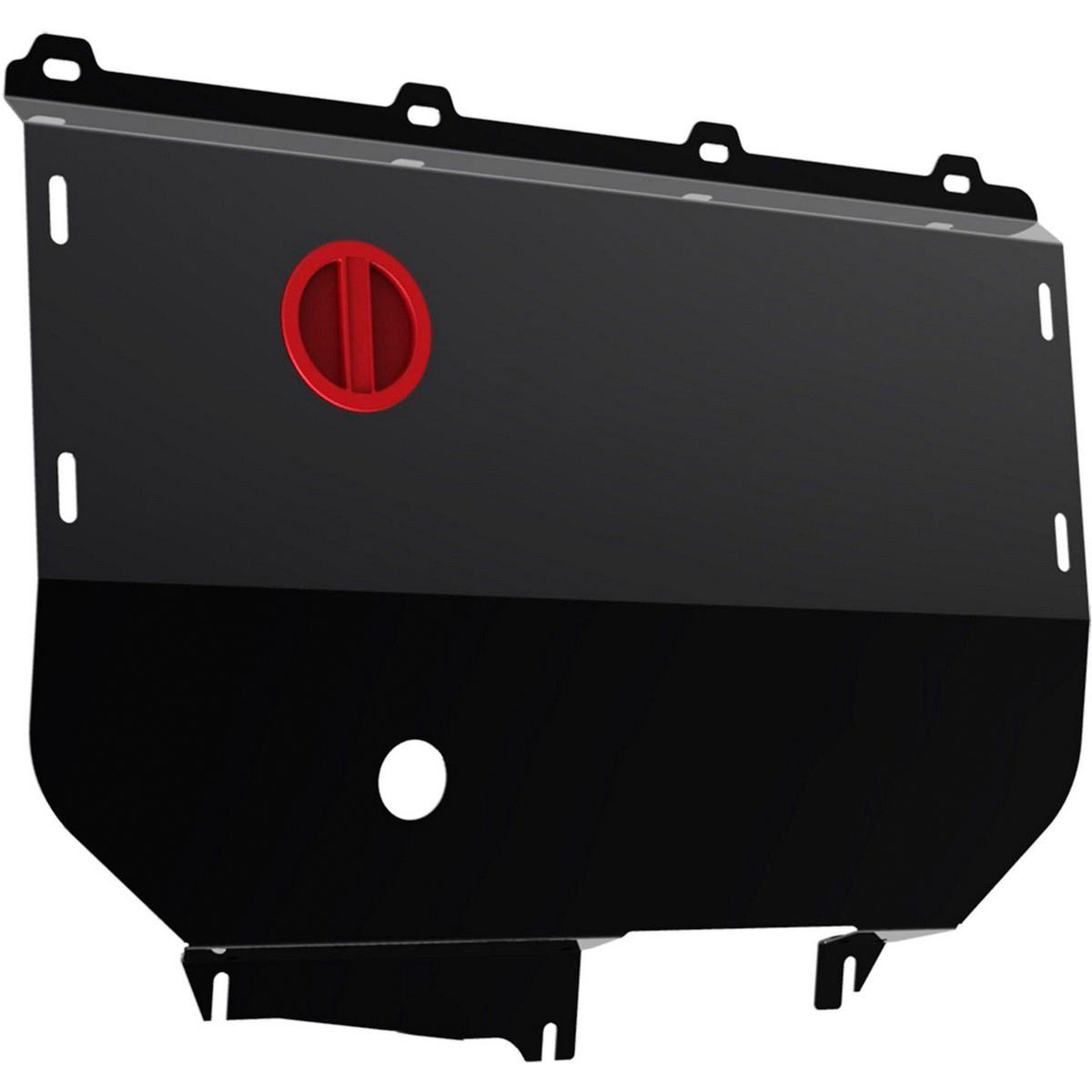 Защита картера и КПП Автоброня Fiat Ducato 2002-2011, сталь 2 мм - Тюнинг и защита - Защита внешних частей