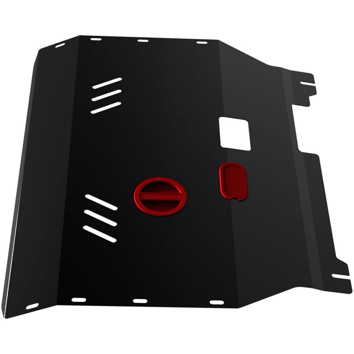 Защита картера и КПП Автоброня Ford Transit 2007-2014, сталь 2 мм111.01833.1Защита картера и КПП Автоброня Ford Transit передний привод, V-2,2 TDI 2007-2014, сталь 2 мм, комплект крепежа, 111.01833.1Стальные защиты Автоброня надежно защищают ваш автомобиль от повреждений при наезде на бордюры, выступающие канализационные люки, кромки поврежденного асфальта или при ремонте дорог, не говоря уже о загородных дорогах. - Имеют оптимальное соотношение цена-качество. - Спроектированы с учетом особенностей автомобиля, что делает установку удобной. - Защита устанавливается в штатные места кузова автомобиля. - Является надежной защитой для важных элементов на протяжении долгих лет. - Глубокий штамп дополнительно усиливает конструкцию защиты. - Подштамповка в местах крепления защищает крепеж от срезания. - Технологические отверстия там, где они необходимы для смены масла и слива воды, оборудованные заглушками, закрепленными на защите. Толщина стали 2 мм. В комплекте крепеж и инструкция по установке.