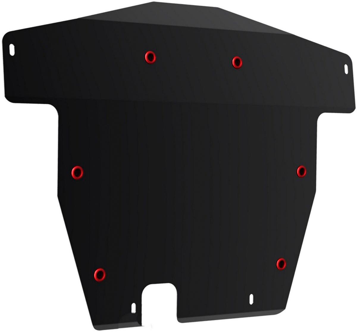 Защита картера и КПП Автоброня Honda Accord VII 2002-2008, сталь 2 мм