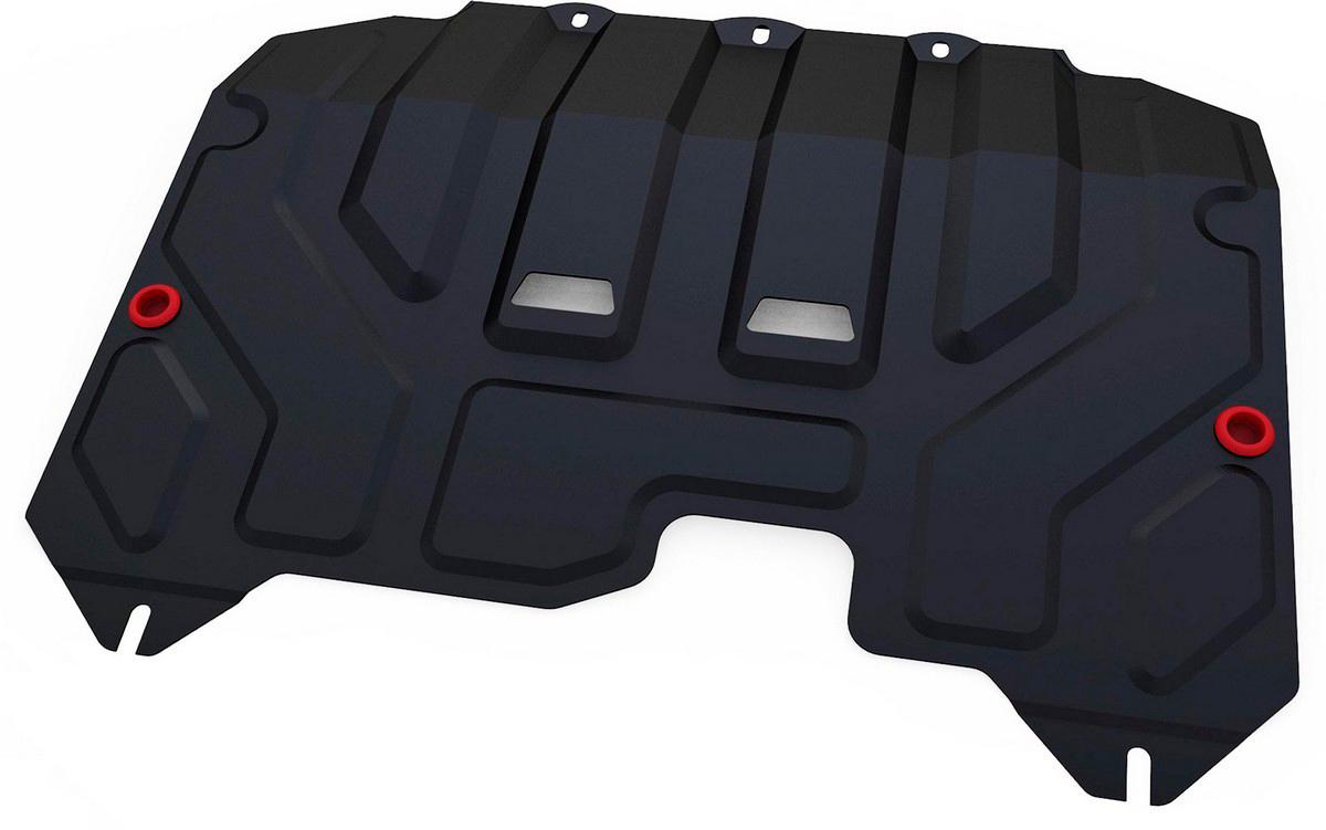Купить Защита картера и КПП Автоброня Hyundai ix35 2010-2015/Kia Sportage 2010-2016, сталь 2 мм
