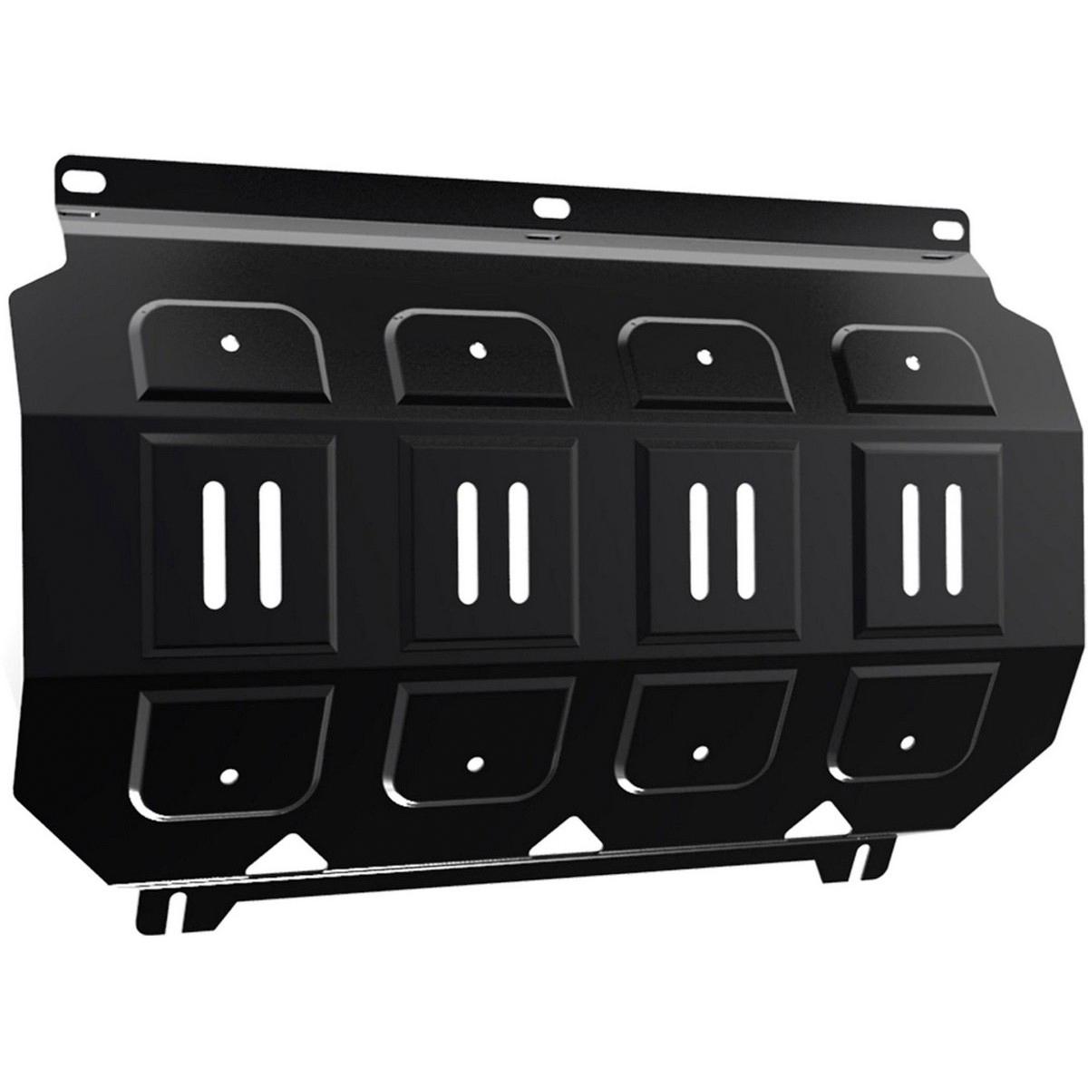 Купить Защита радиатора Автоброня Mitsubishi L200 2006-2015/Mitsubishi Pajero Sport 2008-2016, сталь 2 мм