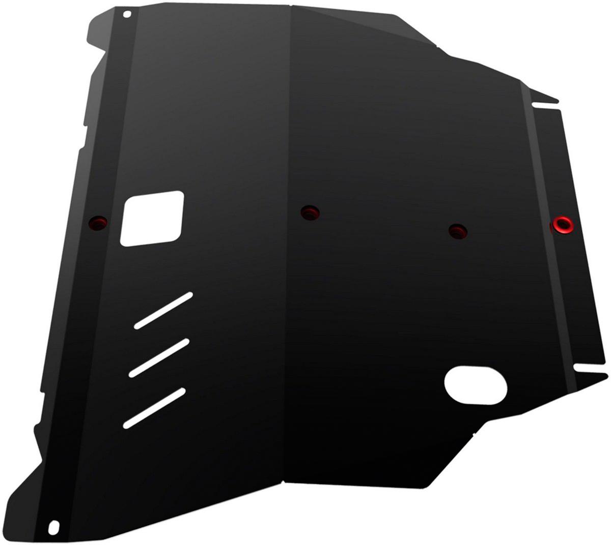 Защита картера Автоброня Nissan X-Trail 2001-2007, сталь 2 мм - Тюнинг и защита - Защита внешних частей