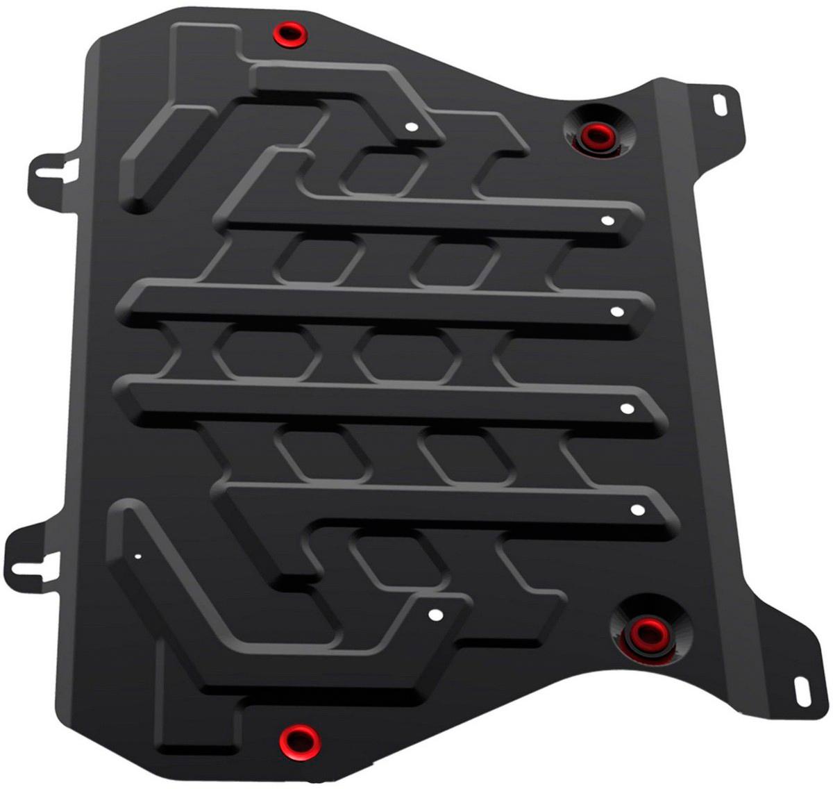 Защита картера и КПП Автоброня Nissan Juke 2011-, сталь 2 мм - Тюнинг и защита - Защита внешних частей
