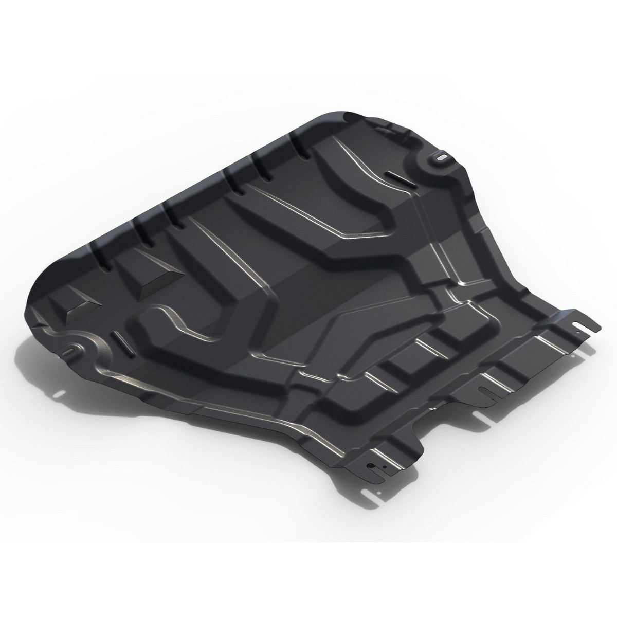 Купить Защита АвтоБРОНЯ для картера и КПП Skoda Octavia (кроме Webasto) 2013-2017 / Octavia МКПП 2017-, сталь 2 мм, крепеж в комплекте. 111.05111.1, Автоброня