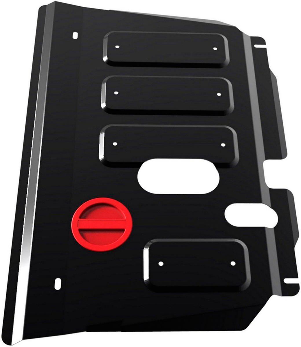 Защита картера и КПП Автоброня Toyota Ractis 2005-2010/Toyota Yaris 2005-2008, сталь 2 мм - Тюнинг и защита - Защита внешних частей