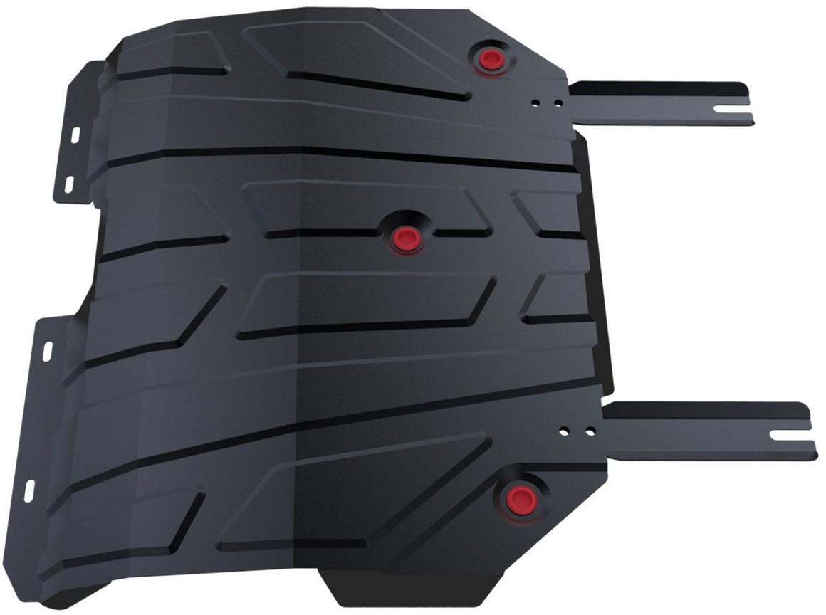 Защита картера и КПП Автоброня Chery Tiggo 5 2014-, сталь 2 мм - Тюнинг и защита - Защита внешних частей
