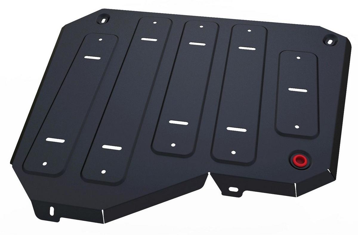 Защита топливного бака Автоброня Chery Tiggo 5 2014-, сталь 2 мм - Тюнинг и защита - Защита внешних частей