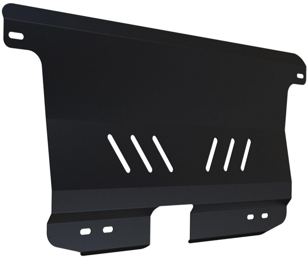 Защита картера и КПП Автоброня Chevrolet Spark 2005-2010, сталь 2 мм - Тюнинг и защита - Защита внешних частей