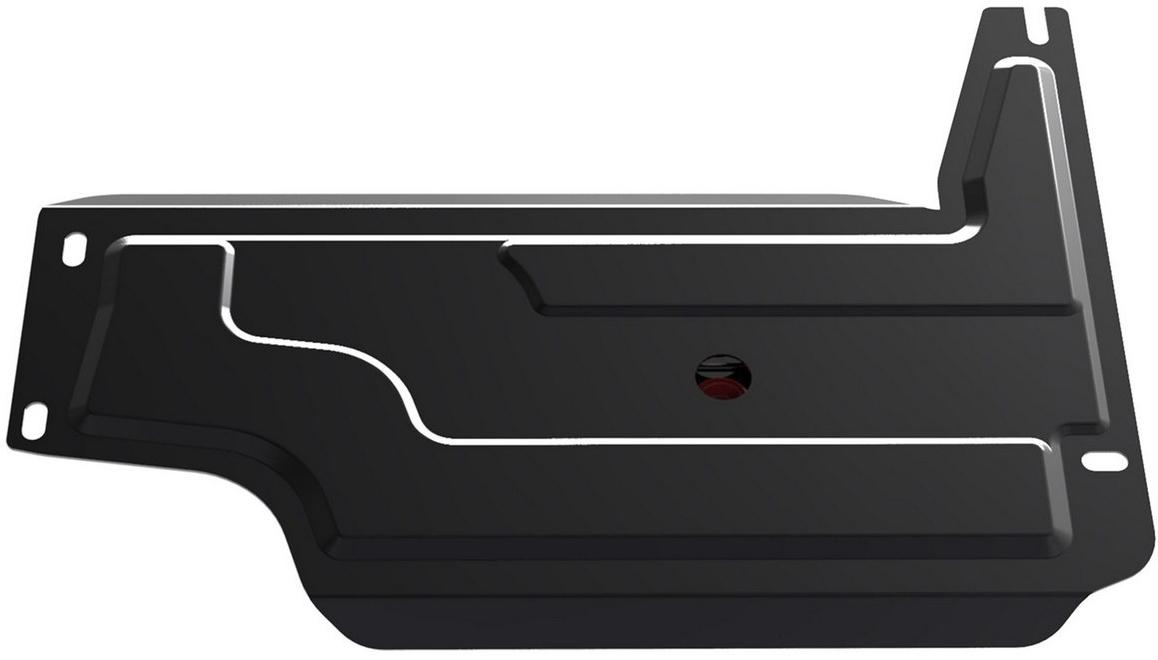 Защита РК Автоброня Chevrolet Niva 2002-, сталь 2 мм111.01011.3Защита РК Автоброня Chevrolet Niva, V- 1,7 2002-, сталь 2 мм, комплект крепежа, 111.01011.3 Дополнительно можно приобрести другие защитные элементы из комплекта: защита КПП - 111.01014.2, защита картера - 1.01017.1Стальные защиты Автоброня надежно защищают ваш автомобиль от повреждений при наезде на бордюры, выступающие канализационные люки, кромки поврежденного асфальта или при ремонте дорог, не говоря уже о загородных дорогах. - Имеют оптимальное соотношение цена-качество. - Спроектированы с учетом особенностей автомобиля, что делает установку удобной. - Защита устанавливается в штатные места кузова автомобиля. - Является надежной защитой для важных элементов на протяжении долгих лет. - Глубокий штамп дополнительно усиливает конструкцию защиты. - Подштамповка в местах крепления защищает крепеж от срезания. - Технологические отверстия там, где они необходимы для смены масла и слива воды, оборудованные заглушками, закрепленными на защите. Толщина стали 2 мм. В комплекте крепеж и инструкция по установке.Уважаемые клиенты! Обращаем ваше внимание на тот факт, что защита имеет форму, соответствующую модели данного автомобиля. Наличие глубокого штампа и лючков для смены фильтров/масла предусмотрено не на всех защитах. Фото служит для визуального восприятия товара.