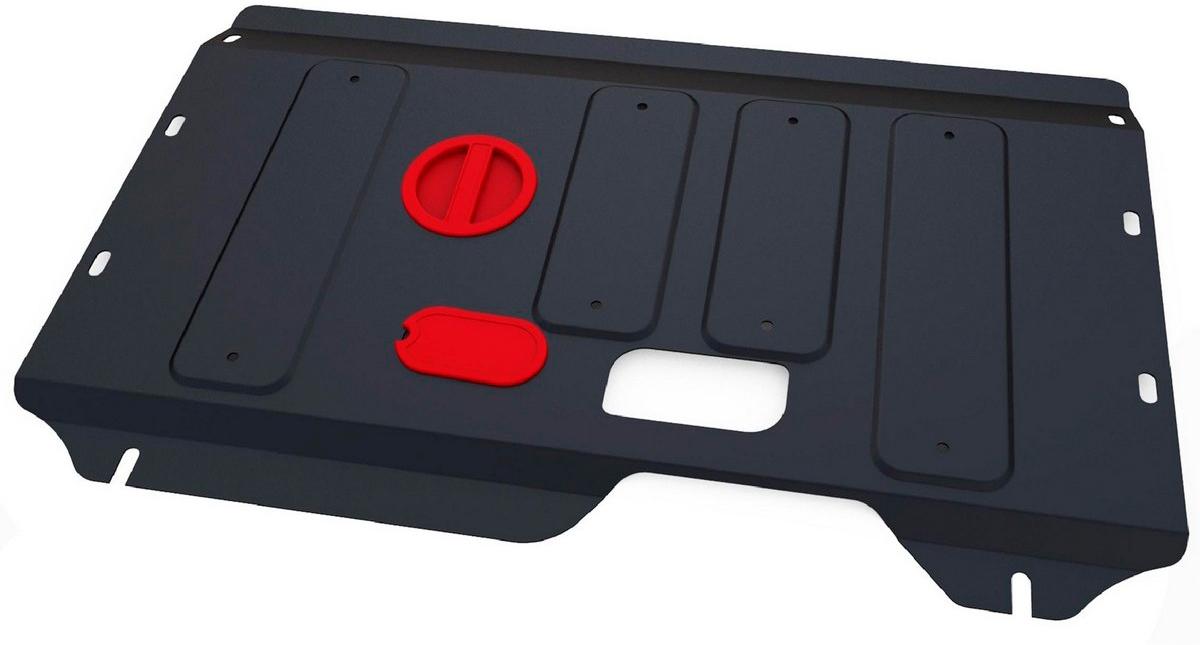 Защита картера и КПП Автоброня Ford Torneo Custom 2013-/Ford Transit 2014-, сталь 2 мм - Тюнинг и защита - Защита внешних частей