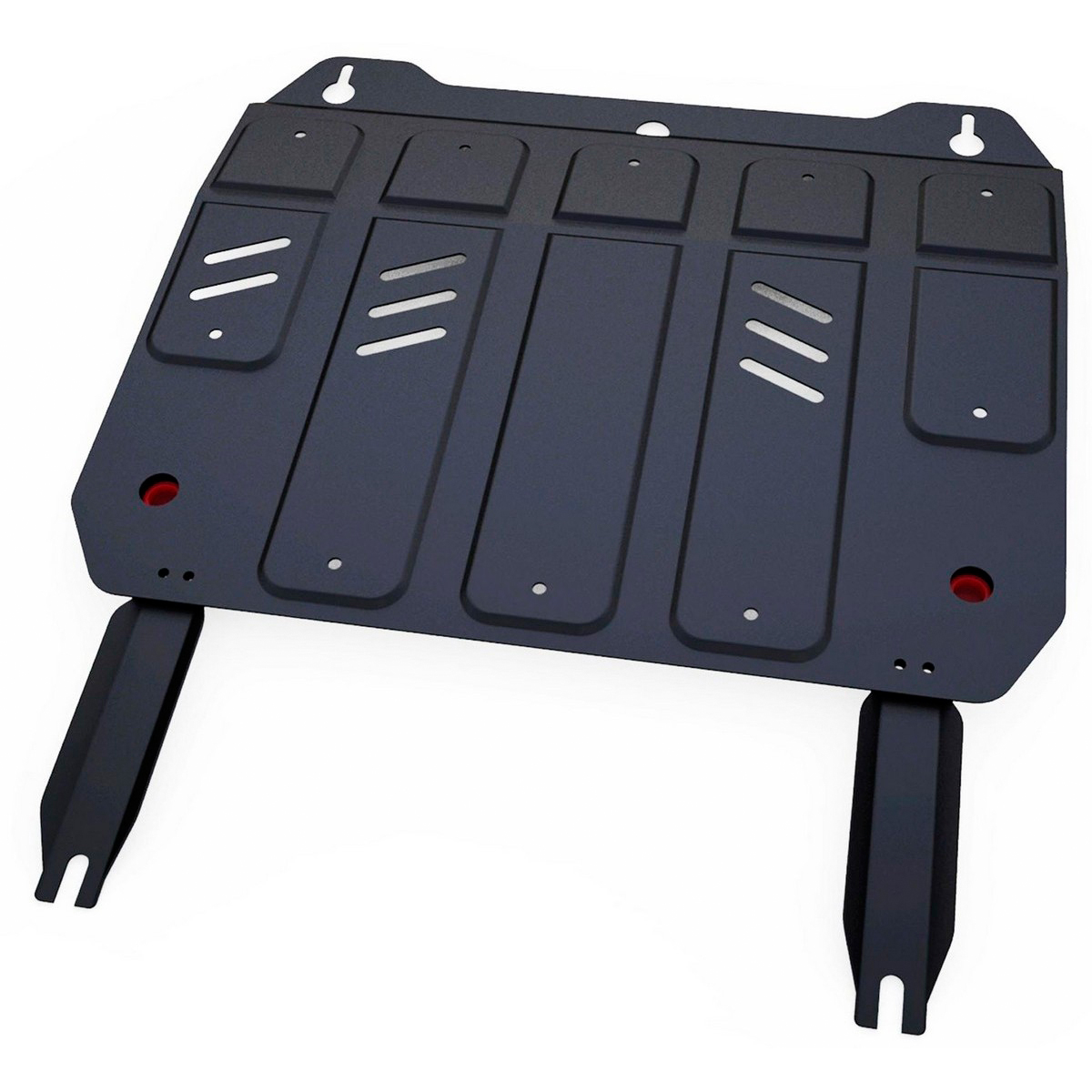 Купить Защита картера и КПП Автоброня Geely MK 2008-/Geely GC6 2014-/Geely MK Cross 2011-, сталь 2 мм