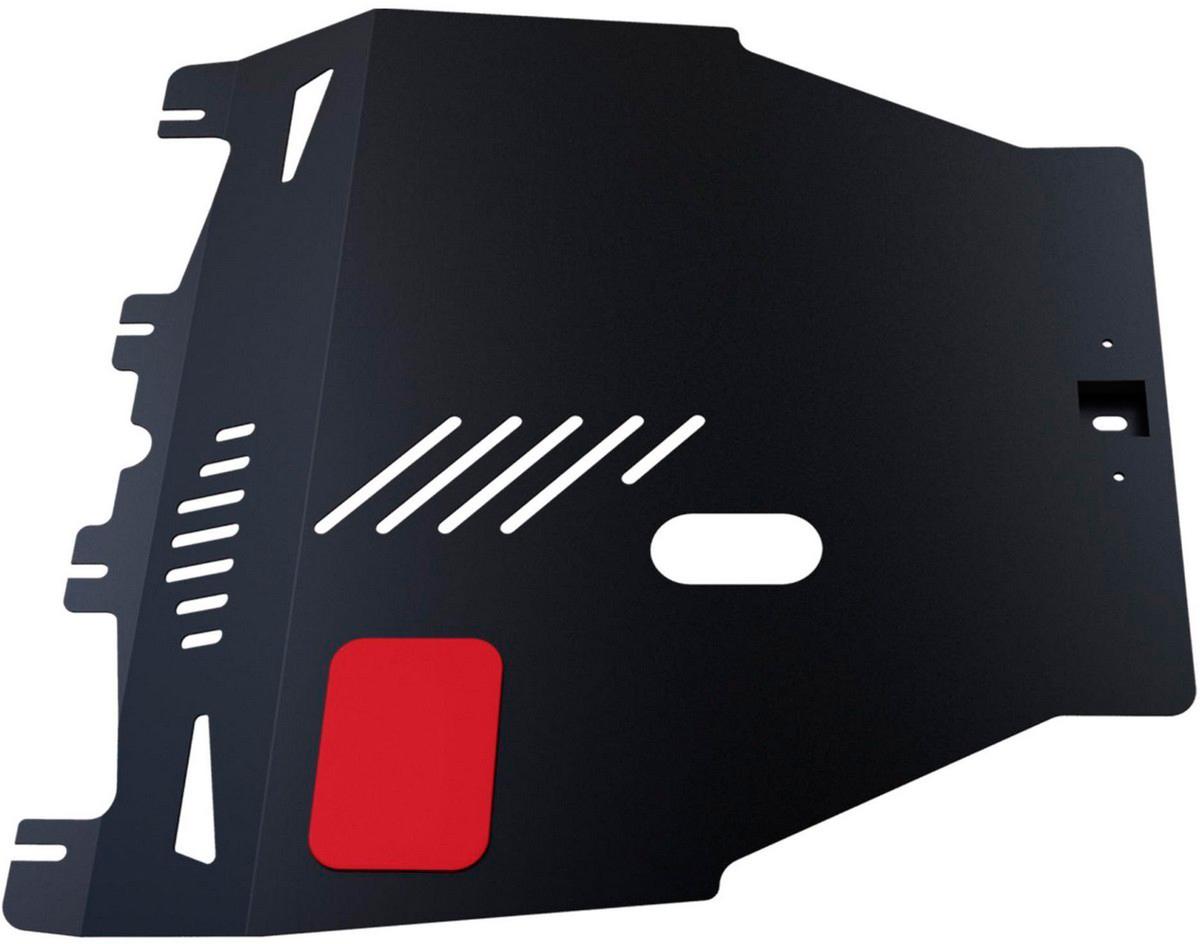 Купить Защита картера и КПП Автоброня Honda Civic 2006-2011, сталь 2 мм