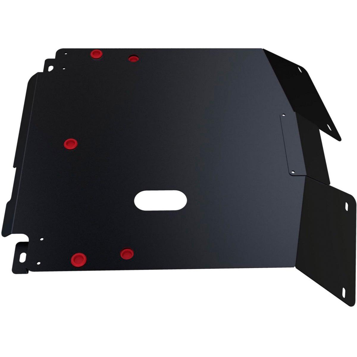 Защита картера и КПП Автоброня Honda HR-V 1998-2005, сталь 2 мм111.02112.1Защита картера и КПП Автоброня Honda HR-V, V - 1,6 1998-2005, сталь 2 мм, комплект крепежа, 111.02112.1Стальные защиты Автоброня надежно защищают ваш автомобиль от повреждений при наезде на бордюры, выступающие канализационные люки, кромки поврежденного асфальта или при ремонте дорог, не говоря уже о загородных дорогах. - Имеют оптимальное соотношение цена-качество. - Спроектированы с учетом особенностей автомобиля, что делает установку удобной. - Защита устанавливается в штатные места кузова автомобиля. - Является надежной защитой для важных элементов на протяжении долгих лет. - Глубокий штамп дополнительно усиливает конструкцию защиты. - Подштамповка в местах крепления защищает крепеж от срезания. - Технологические отверстия там, где они необходимы для смены масла и слива воды, оборудованные заглушками, закрепленными на защите. Толщина стали 2 мм. В комплекте крепеж и инструкция по установке.Уважаемые клиенты! Обращаем ваше внимание на тот факт, что защита имеет форму, соответствующую модели данного автомобиля. Наличие глубокого штампа и лючков для смены фильтров/масла предусмотрено не на всех защитах. Фото служит для визуального восприятия товара.