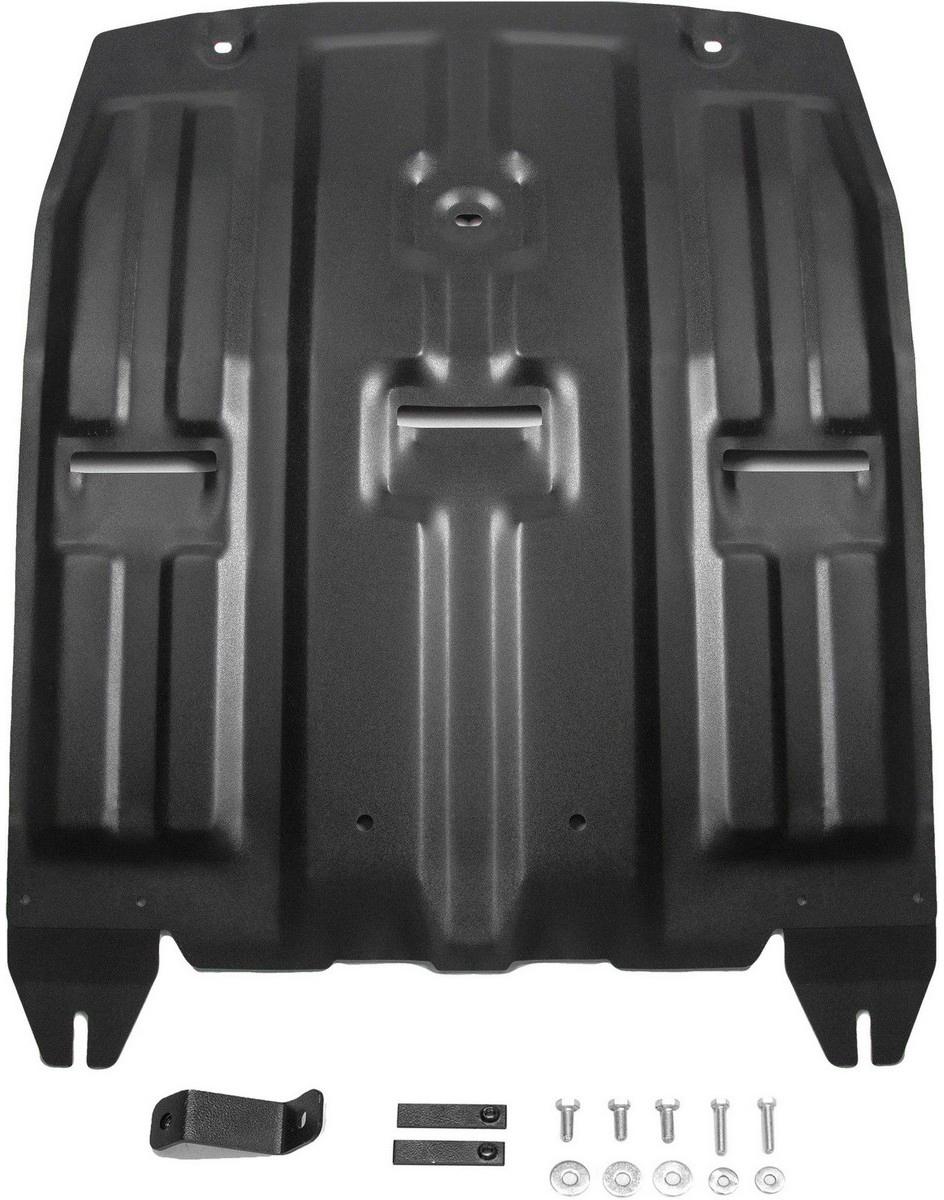 Купить Защита картера и КПП Автоброня Hyundai Tucson 2015-/Kia Sportage 2016-, сталь 2 мм