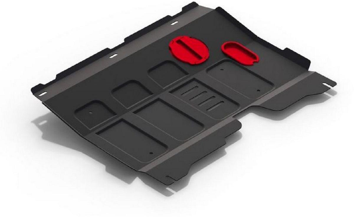 Защита картера и КПП Автоброня Lifan X50 2014-, сталь 2 мм111.03314.1Защита картера и КПП Автоброня Lifan X50, V - 1,5 2014-, сталь 2 мм, комплект крепежа, 111.03314.1Стальные защиты Автоброня надежно защищают ваш автомобиль от повреждений при наезде на бордюры, выступающие канализационные люки, кромки поврежденного асфальта или при ремонте дорог, не говоря уже о загородных дорогах. - Имеют оптимальное соотношение цена-качество. - Спроектированы с учетом особенностей автомобиля, что делает установку удобной. - Защита устанавливается в штатные места кузова автомобиля. - Является надежной защитой для важных элементов на протяжении долгих лет. - Глубокий штамп дополнительно усиливает конструкцию защиты. - Подштамповка в местах крепления защищает крепеж от срезания. - Технологические отверстия там, где они необходимы для смены масла и слива воды, оборудованные заглушками, закрепленными на защите. Толщина стали 2 мм. В комплекте крепеж и инструкция по установке.Уважаемые клиенты! Обращаем ваше внимание на тот факт, что защита имеет форму, соответствующую модели данного автомобиля. Наличие глубокого штампа и лючков для смены фильтров/масла предусмотрено не на всех защитах. Фото служит для визуального восприятия товара.