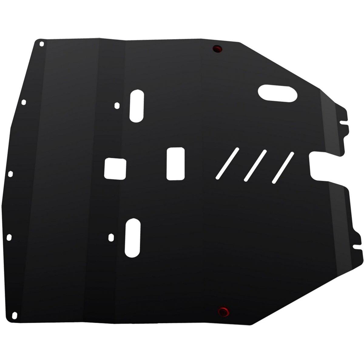Защита картера Автоброня Nissan Teana 2003-2008, сталь 2 мм111.04133.1Защита картера Автоброня Nissan Teana, V - 3,5 2003-2008, сталь 2 мм, комплект крепежа, 111.04133.1Стальные защиты Автоброня надежно защищают ваш автомобиль от повреждений при наезде на бордюры, выступающие канализационные люки, кромки поврежденного асфальта или при ремонте дорог, не говоря уже о загородных дорогах. - Имеют оптимальное соотношение цена-качество. - Спроектированы с учетом особенностей автомобиля, что делает установку удобной. - Защита устанавливается в штатные места кузова автомобиля. - Является надежной защитой для важных элементов на протяжении долгих лет. - Глубокий штамп дополнительно усиливает конструкцию защиты. - Подштамповка в местах крепления защищает крепеж от срезания. - Технологические отверстия там, где они необходимы для смены масла и слива воды, оборудованные заглушками, закрепленными на защите. Толщина стали 2 мм. В комплекте крепеж и инструкция по установке.Уважаемые клиенты! Обращаем ваше внимание на тот факт, что защита имеет форму, соответствующую модели данного автомобиля. Наличие глубокого штампа и лючков для смены фильтров/масла предусмотрено не на всех защитах. Фото служит для визуального восприятия товара.