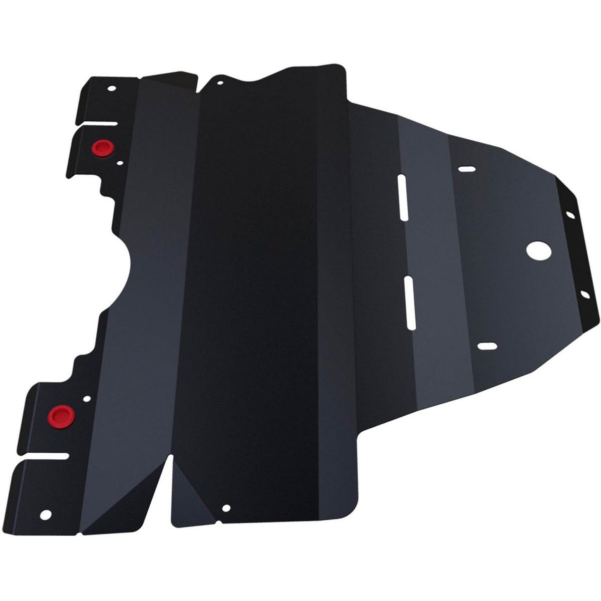 Купить Защита картера Автоброня Subaru Legacy 2010-2015/Subaru Outback 2010-2015, сталь 2 мм