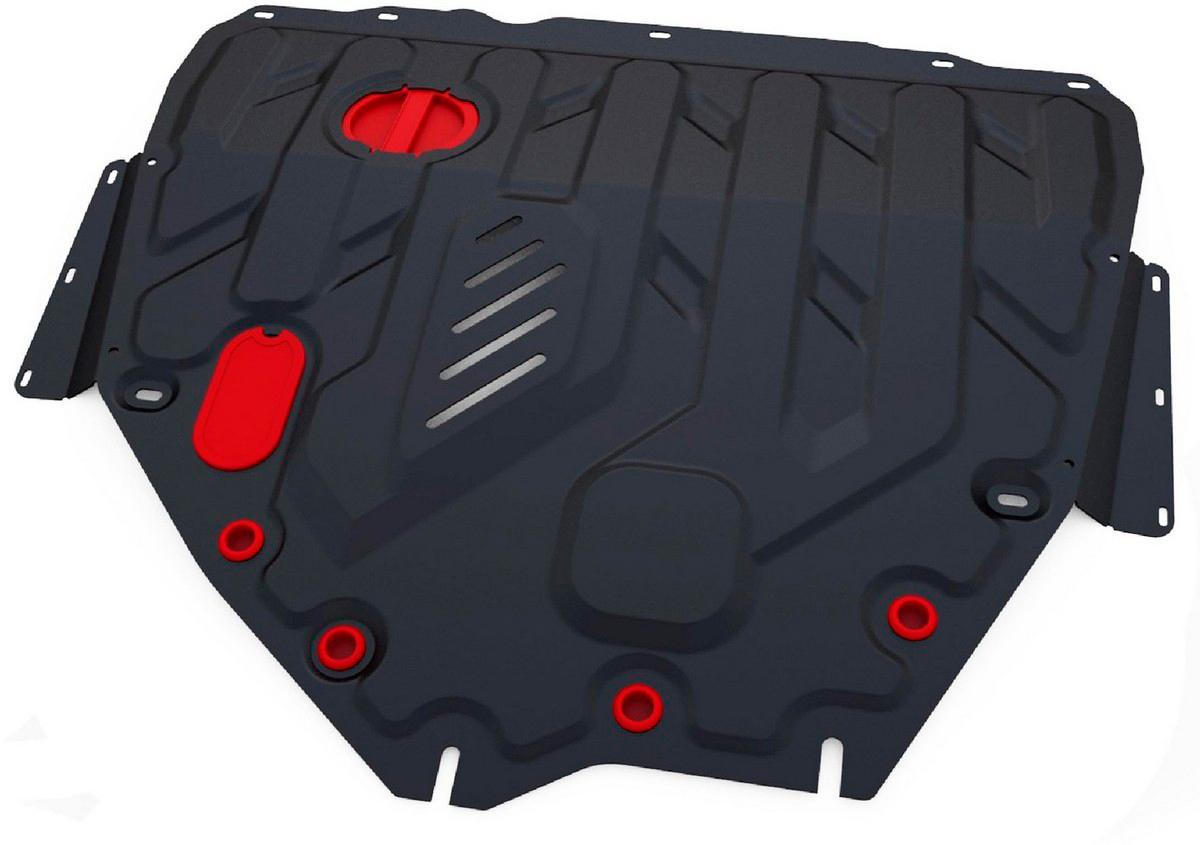 Защита картера и КПП Автоброня Suzuki SX4 2013-/Suzuki Vitara 2015-, сталь 2 мм  - купить со скидкой