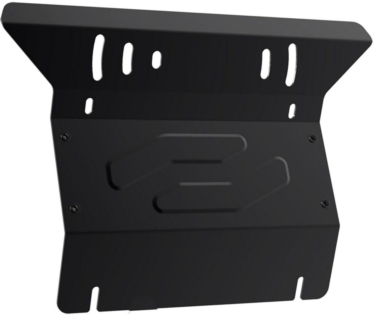 Защита радиатора Автоброня Toyota Hilux 2007-2015, сталь 2 мм111.05744.1Защита радиатора Автоброня Toyota Hilux, V - 2,5D-4D; 3,0TD 2007-2015, сталь 2 мм, комплект крепежа, 111.05744.1 Дополнительно можно приобрести другие защитные элементы из комплекта: защита картера - 1.05745.1, защита КПП - 111.05746.1Стальные защиты Автоброня надежно защищают ваш автомобиль от повреждений при наезде на бордюры, выступающие канализационные люки, кромки поврежденного асфальта или при ремонте дорог, не говоря уже о загородных дорогах. - Имеют оптимальное соотношение цена-качество. - Спроектированы с учетом особенностей автомобиля, что делает установку удобной. - Защита устанавливается в штатные места кузова автомобиля. - Является надежной защитой для важных элементов на протяжении долгих лет. - Глубокий штамп дополнительно усиливает конструкцию защиты. - Подштамповка в местах крепления защищает крепеж от срезания. - Технологические отверстия там, где они необходимы для смены масла и слива воды, оборудованные заглушками, закрепленными на защите. Толщина стали 2 мм. В комплекте крепеж и инструкция по установке.Уважаемые клиенты! Обращаем ваше внимание на тот факт, что защита имеет форму, соответствующую модели данного автомобиля. Наличие глубокого штампа и лючков для смены фильтров/масла предусмотрено не на всех защитах. Фото служит для визуального восприятия товара.