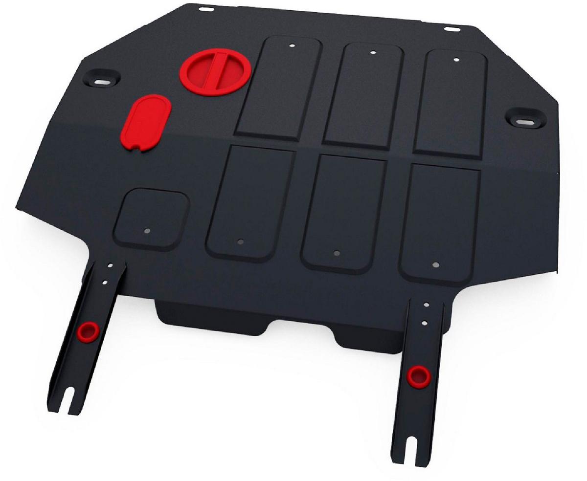 Защита картера и КПП Автоброня FAW Oley 2014-, сталь 2 мм111.08008.1Защита картера и КПП Автоброня FAW Oley, V-1,5 2014-, сталь 2 мм, комплект крепежа, 111.08008.1Стальные защиты Автоброня надежно защищают ваш автомобиль от повреждений при наезде на бордюры, выступающие канализационные люки, кромки поврежденного асфальта или при ремонте дорог, не говоря уже о загородных дорогах. - Имеют оптимальное соотношение цена-качество. - Спроектированы с учетом особенностей автомобиля, что делает установку удобной. - Защита устанавливается в штатные места кузова автомобиля. - Является надежной защитой для важных элементов на протяжении долгих лет. - Глубокий штамп дополнительно усиливает конструкцию защиты. - Подштамповка в местах крепления защищает крепеж от срезания. - Технологические отверстия там, где они необходимы для смены масла и слива воды, оборудованные заглушками, закрепленными на защите. Толщина стали 2 мм. В комплекте крепеж и инструкция по установке.Уважаемые клиенты! Обращаем ваше внимание на тот факт, что защита имеет форму, соответствующую модели данного автомобиля. Наличие глубокого штампа и лючков для смены фильтров/масла предусмотрено не на всех защитах. Фото служит для визуального восприятия товара.