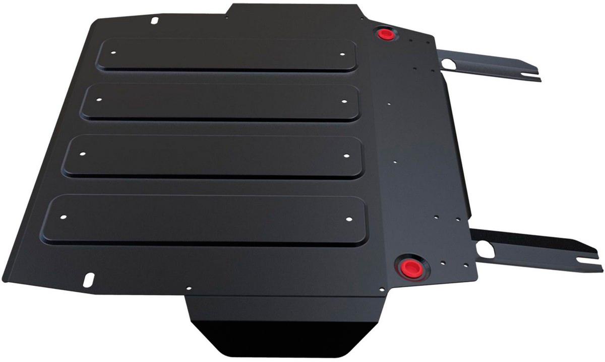 Защита картера и КПП Автоброня Brilliance V5 2014-/Brilliance H530 2014-, сталь 2 мм111.09002.1Защита картера и КПП Автоброня для Brilliance V5, V - 1,6 2014-/Brilliance H530, V - 1,6 2014-, сталь 2 мм, комплект крепежа, 111.09002.1Стальные защиты Автоброня надежно защищают ваш автомобиль от повреждений при наезде на бордюры, выступающие канализационные люки, кромки поврежденного асфальта или при ремонте дорог, не говоря уже о загородных дорогах. - Имеют оптимальное соотношение цена-качество. - Спроектированы с учетом особенностей автомобиля, что делает установку удобной. - Защита устанавливается в штатные места кузова автомобиля. - Является надежной защитой для важных элементов на протяжении долгих лет. - Глубокий штамп дополнительно усиливает конструкцию защиты. - Подштамповка в местах крепления защищает крепеж от срезания. - Технологические отверстия там, где они необходимы для смены масла и слива воды, оборудованные заглушками, закрепленными на защите. Толщина стали 2 мм. В комплекте крепеж и инструкция по установке.Уважаемые клиенты! Обращаем ваше внимание на тот факт, что защита имеет форму, соответствующую модели данного автомобиля. Наличие глубокого штампа и лючков для смены фильтров/масла предусмотрено не на всех защитах. Фото служит для визуального восприятия товара.