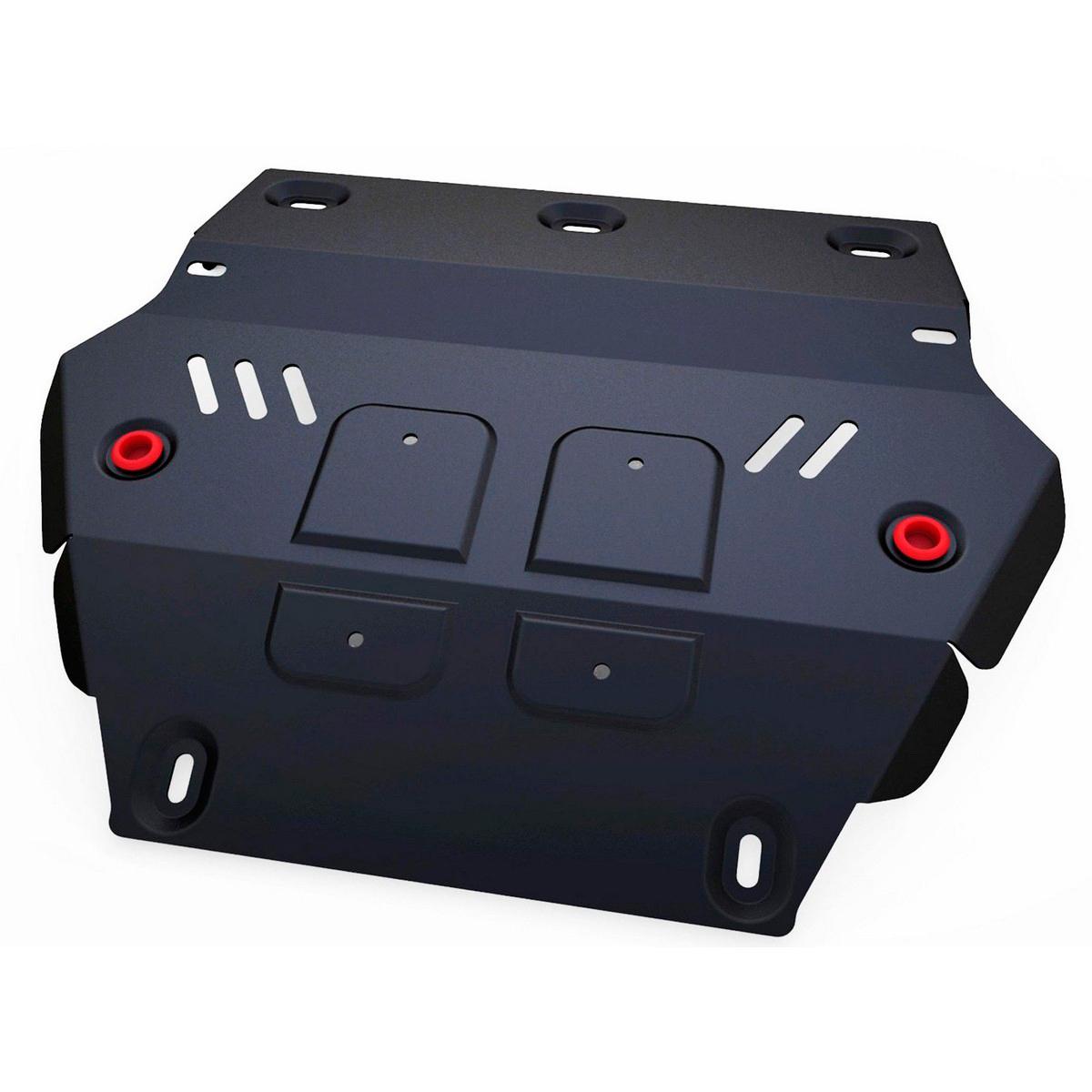 Защита радиатора Автоброня Isuzu D-Max 2012-, сталь 2 мм111.09101.1Защита радиатора Автоброня Isuzu D-Max, V-2,5TD 2012-, сталь 2 мм, комплект крепежа, 111.09101.1Стальные защиты Автоброня надежно защищают ваш автомобиль от повреждений при наезде на бордюры, выступающие канализационные люки, кромки поврежденного асфальта или при ремонте дорог, не говоря уже о загородных дорогах. - Имеют оптимальное соотношение цена-качество. - Спроектированы с учетом особенностей автомобиля, что делает установку удобной. - Защита устанавливается в штатные места кузова автомобиля. - Является надежной защитой для важных элементов на протяжении долгих лет. - Глубокий штамп дополнительно усиливает конструкцию защиты. - Подштамповка в местах крепления защищает крепеж от срезания. - Технологические отверстия там, где они необходимы для смены масла и слива воды, оборудованные заглушками, закрепленными на защите. Толщина стали 2 мм. В комплекте крепеж и инструкция по установке.Уважаемые клиенты! Обращаем ваше внимание на тот факт, что защита имеет форму, соответствующую модели данного автомобиля. Наличие глубокого штампа и лючков для смены фильтров/масла предусмотрено не на всех защитах. Фото служит для визуального восприятия товара.