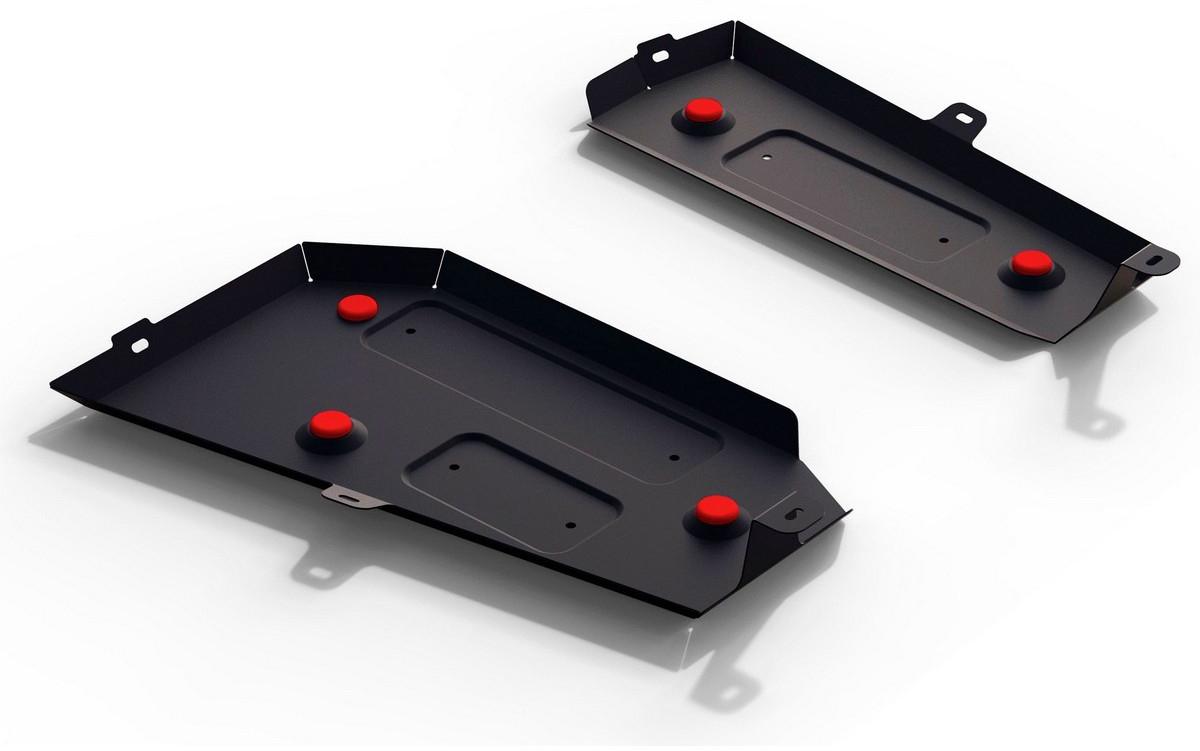 Защита топливного бака Автоброня Haval H2 2014-, сталь 2 мм111.09402.1Защита топливного бака Автоброня Haval H2 МКПП 4WD, V - 1,5T 2014-, сталь 2 мм, комплект крепежа, 111.09402.1Стальные защиты Автоброня надежно защищают ваш автомобиль от повреждений при наезде на бордюры, выступающие канализационные люки, кромки поврежденного асфальта или при ремонте дорог, не говоря уже о загородных дорогах. - Имеют оптимальное соотношение цена-качество. - Спроектированы с учетом особенностей автомобиля, что делает установку удобной. - Защита устанавливается в штатные места кузова автомобиля. - Является надежной защитой для важных элементов на протяжении долгих лет. - Глубокий штамп дополнительно усиливает конструкцию защиты. - Подштамповка в местах крепления защищает крепеж от срезания. - Технологические отверстия там, где они необходимы для смены масла и слива воды, оборудованные заглушками, закрепленными на защите. Толщина стали 2 мм. В комплекте крепеж и инструкция по установке.Уважаемые клиенты! Обращаем ваше внимание на тот факт, что защита имеет форму, соответствующую модели данного автомобиля. Наличие глубокого штампа и лючков для смены фильтров/масла предусмотрено не на всех защитах. Фото служит для визуального восприятия товара.