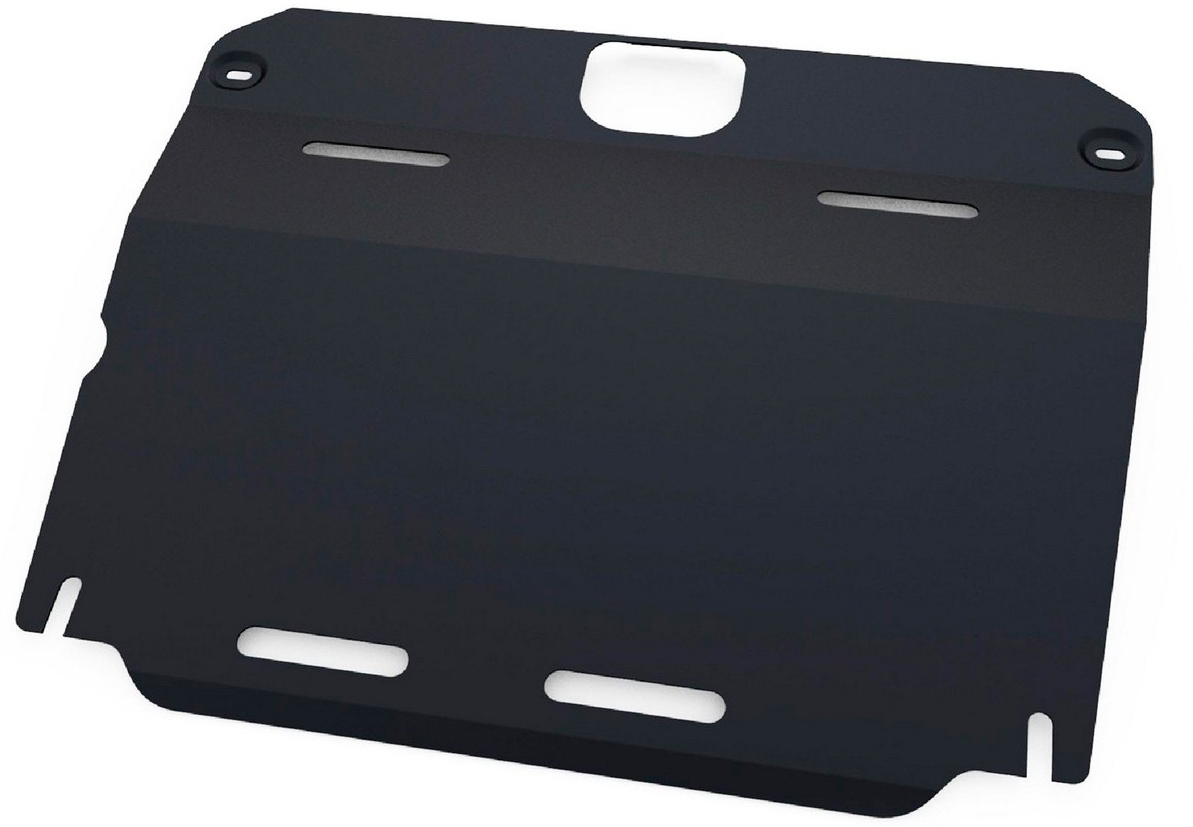Защита картера и КПП Автоброня Mg 6 2013-, сталь 2 мм111.08602.1Защита картера и КПП Автоброня Mg 6 АКПП, V - 1,8T 2013-, сталь 2 мм, комплект крепежа, 111.08602.1Стальные защиты Автоброня надежно защищают ваш автомобиль от повреждений при наезде на бордюры, выступающие канализационные люки, кромки поврежденного асфальта или при ремонте дорог, не говоря уже о загородных дорогах. - Имеют оптимальное соотношение цена-качество. - Спроектированы с учетом особенностей автомобиля, что делает установку удобной. - Защита устанавливается в штатные места кузова автомобиля. - Является надежной защитой для важных элементов на протяжении долгих лет. - Глубокий штамп дополнительно усиливает конструкцию защиты. - Подштамповка в местах крепления защищает крепеж от срезания. - Технологические отверстия там, где они необходимы для смены масла и слива воды, оборудованные заглушками, закрепленными на защите. Толщина стали 2 мм. В комплекте крепеж и инструкция по установке.Уважаемые клиенты! Обращаем ваше внимание на тот факт, что защита имеет форму, соответствующую модели данного автомобиля. Наличие глубокого штампа и лючков для смены фильтров/масла предусмотрено не на всех защитах. Фото служит для визуального восприятия товара.
