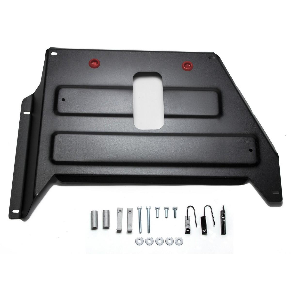 Купить Защита кислородного датчика Автоброня Nissan Terrano 2014-/Renault Duster 2015-/Renault Kaptur 4x4 2016-, сталь 2 мм
