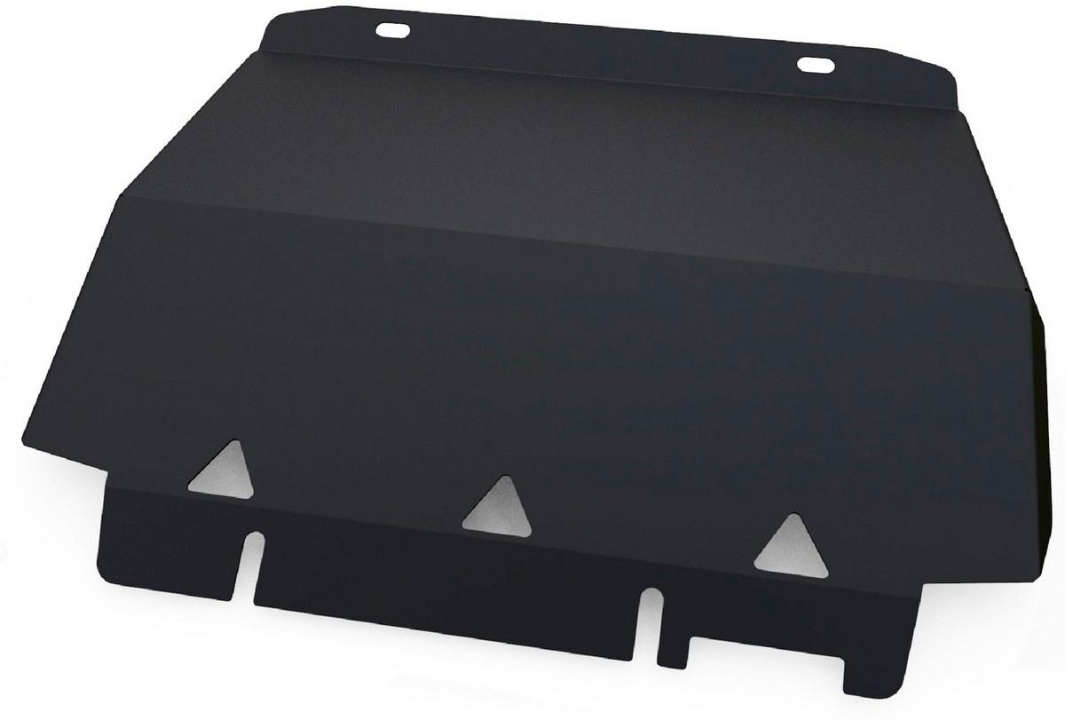 Защита радиатора Автоброня Ford Ranger 2012-, сталь 2 мм111.01829.1Защита радиатора Автоброня Ford Ranger, V - 2,2 2012-, сталь 2 мм, комплект крепежа, 111.01829.1 Дополнительно можно приобрести другие защитные элементы из комплекта: защита картера - 111.01830.1, защита КПП - 111.01831.1, защита РК - 111.01832.1Стальные защиты Автоброня надежно защищают ваш автомобиль от повреждений при наезде на бордюры, выступающие канализационные люки, кромки поврежденного асфальта или при ремонте дорог, не говоря уже о загородных дорогах. - Имеют оптимальное соотношение цена-качество. - Спроектированы с учетом особенностей автомобиля, что делает установку удобной. - Защита устанавливается в штатные места кузова автомобиля. - Является надежной защитой для важных элементов на протяжении долгих лет. - Глубокий штамп дополнительно усиливает конструкцию защиты. - Подштамповка в местах крепления защищает крепеж от срезания. - Технологические отверстия там, где они необходимы для смены масла и слива воды, оборудованные заглушками, закрепленными на защите. Толщина стали 2 мм. В комплекте крепеж и инструкция по установке.Уважаемые клиенты! Обращаем ваше внимание на тот факт, что защита имеет форму, соответствующую модели данного автомобиля. Наличие глубокого штампа и лючков для смены фильтров/масла предусмотрено не на всех защитах. Фото служит для визуального восприятия товара.