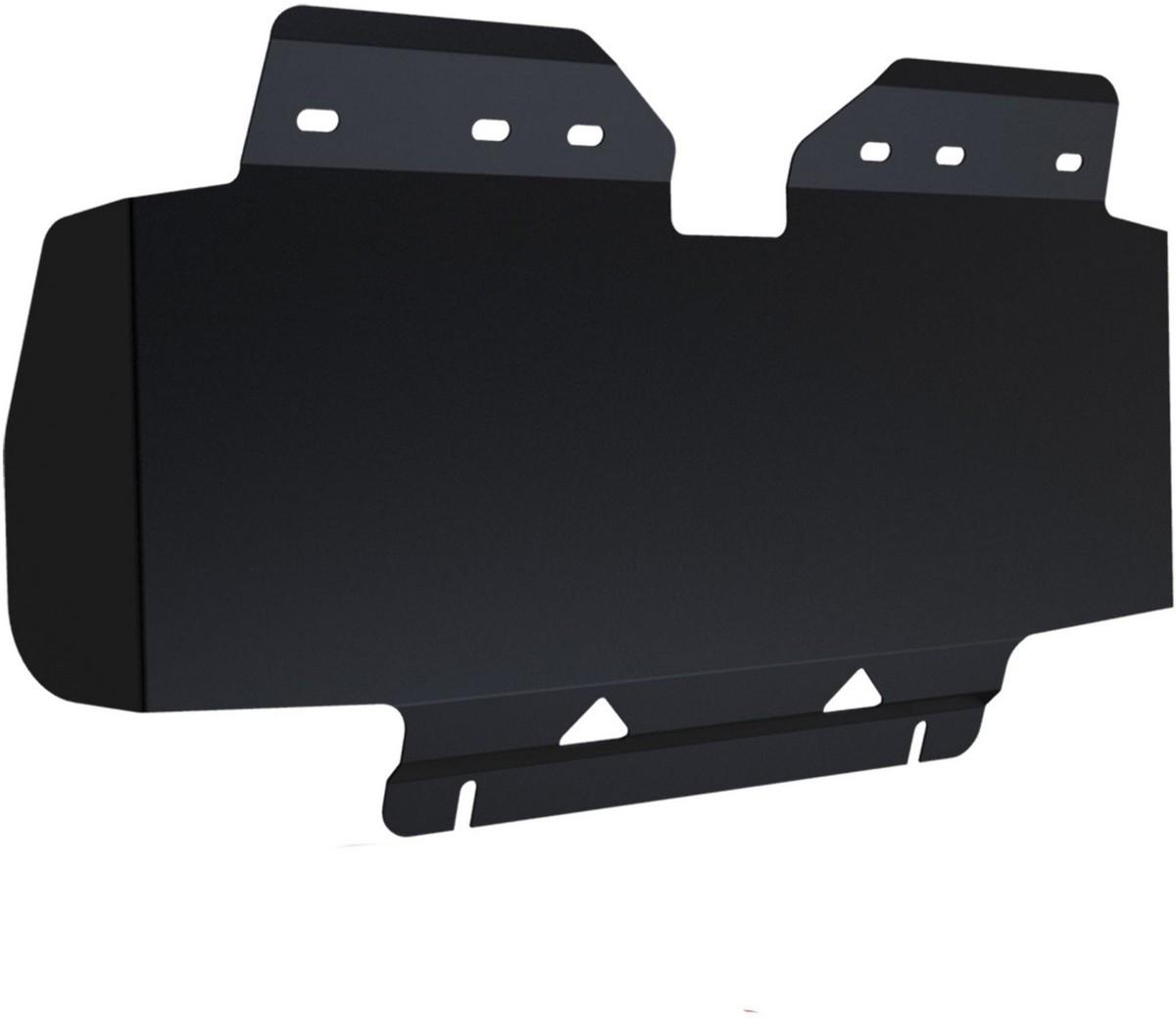 Купить Защита радиатора Автоброня Nissan Patrol 2010-, сталь 2 мм,