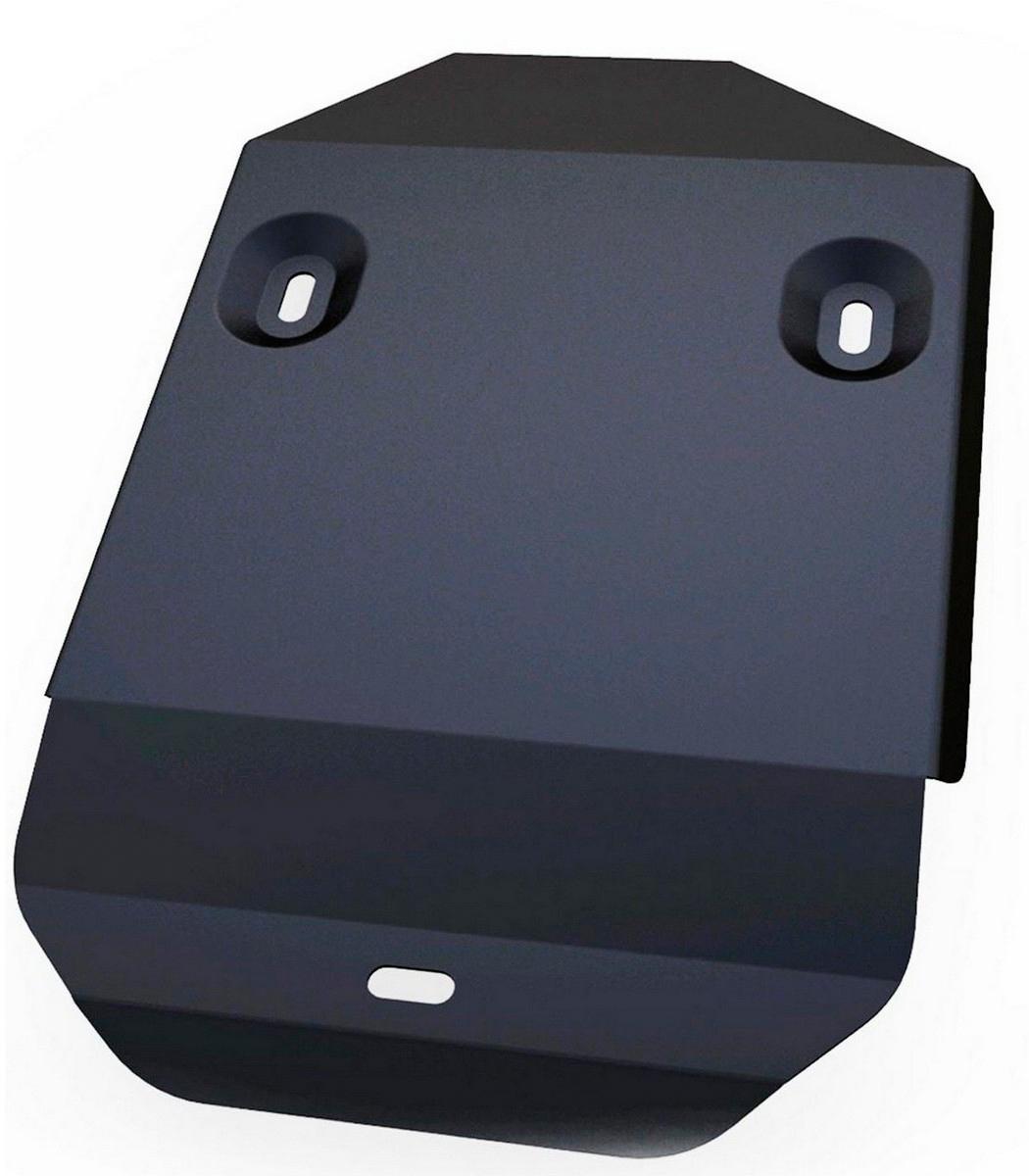 Защита редуктора Автоброня Honda CR-V 2012-, сталь 2 мм111.02128.1Защита редуктора Автоброня Honda CR-V, V - 2,0; 2,4 2012-, сталь 2 мм, комплект крепежа, 111.02128.1Стальные защиты Автоброня надежно защищают ваш автомобиль от повреждений при наезде на бордюры, выступающие канализационные люки, кромки поврежденного асфальта или при ремонте дорог, не говоря уже о загородных дорогах. - Имеют оптимальное соотношение цена-качество. - Спроектированы с учетом особенностей автомобиля, что делает установку удобной. - Защита устанавливается в штатные места кузова автомобиля. - Является надежной защитой для важных элементов на протяжении долгих лет. - Глубокий штамп дополнительно усиливает конструкцию защиты. - Подштамповка в местах крепления защищает крепеж от срезания. - Технологические отверстия там, где они необходимы для смены масла и слива воды, оборудованные заглушками, закрепленными на защите. Толщина стали 2 мм. В комплекте крепеж и инструкция по установке.Уважаемые клиенты! Обращаем ваше внимание на тот факт, что защита имеет форму, соответствующую модели данного автомобиля. Наличие глубокого штампа и лючков для смены фильтров/масла предусмотрено не на всех защитах. Фото служит для визуального восприятия товара.