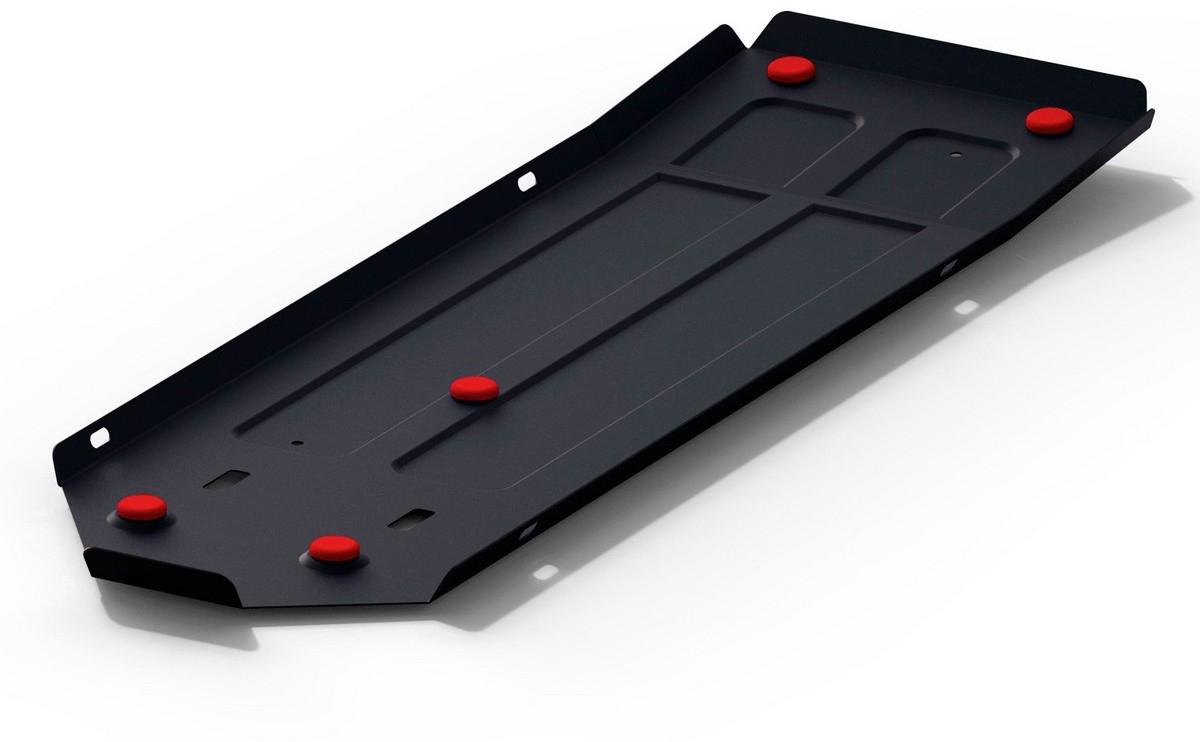 Защита топливного бака Автоброня Haval H9 2015-, сталь 2 мм111.09411.1Защита топливного бака Автоброня Haval H9,V-2,0T 2015-, сталь 2 мм, комплект крепежа, 111.09411.1Стальные защиты Автоброня надежно защищают ваш автомобиль от повреждений при наезде на бордюры, выступающие канализационные люки, кромки поврежденного асфальта или при ремонте дорог, не говоря уже о загородных дорогах. - Имеют оптимальное соотношение цена-качество. - Спроектированы с учетом особенностей автомобиля, что делает установку удобной. - Защита устанавливается в штатные места кузова автомобиля. - Является надежной защитой для важных элементов на протяжении долгих лет. - Глубокий штамп дополнительно усиливает конструкцию защиты. - Подштамповка в местах крепления защищает крепеж от срезания. - Технологические отверстия там, где они необходимы для смены масла и слива воды, оборудованные заглушками, закрепленными на защите. Толщина стали 2 мм. В комплекте крепеж и инструкция по установке.Уважаемые клиенты! Обращаем ваше внимание на тот факт, что защита имеет форму, соответствующую модели данного автомобиля. Наличие глубокого штампа и лючков для смены фильтров/масла предусмотрено не на всех защитах. Фото служит для визуального восприятия товара.