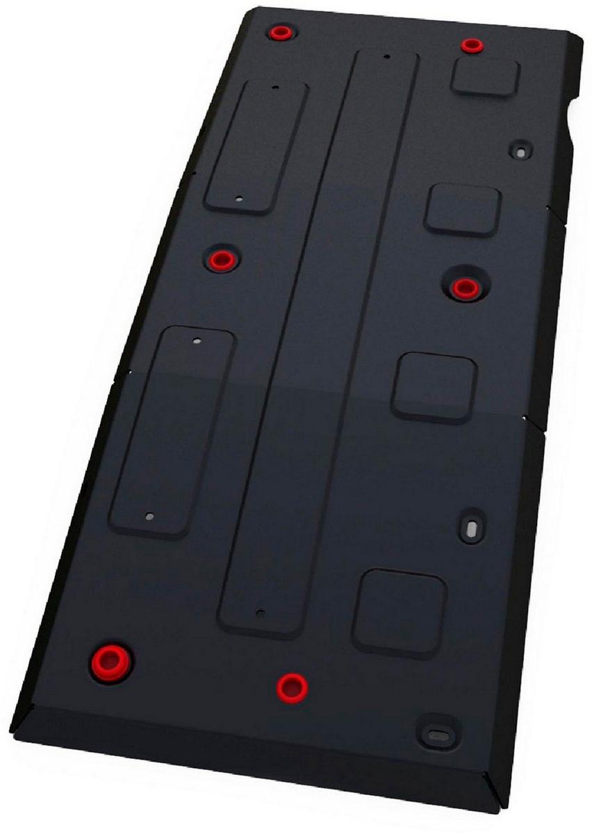 Защита топливного бака Автоброня Mercedes Benz Sprinter Classic 2013-, сталь 2 мм111.03923.1Защита топливного бака Автоброня Mercedes Benz Sprinter Classic 2WD, V - 2,1D 2013-, сталь 2 мм, комплект крепежа, 111.03923.1Стальные защиты Автоброня надежно защищают ваш автомобиль от повреждений при наезде на бордюры, выступающие канализационные люки, кромки поврежденного асфальта или при ремонте дорог, не говоря уже о загородных дорогах. - Имеют оптимальное соотношение цена-качество. - Спроектированы с учетом особенностей автомобиля, что делает установку удобной. - Защита устанавливается в штатные места кузова автомобиля. - Является надежной защитой для важных элементов на протяжении долгих лет. - Глубокий штамп дополнительно усиливает конструкцию защиты. - Подштамповка в местах крепления защищает крепеж от срезания. - Технологические отверстия там, где они необходимы для смены масла и слива воды, оборудованные заглушками, закрепленными на защите. Толщина стали 2 мм. В комплекте крепеж и инструкция по установке.Уважаемые клиенты! Обращаем ваше внимание на тот факт, что защита имеет форму, соответствующую модели данного автомобиля. Наличие глубокого штампа и лючков для смены фильтров/масла предусмотрено не на всех защитах. Фото служит для визуального восприятия товара.