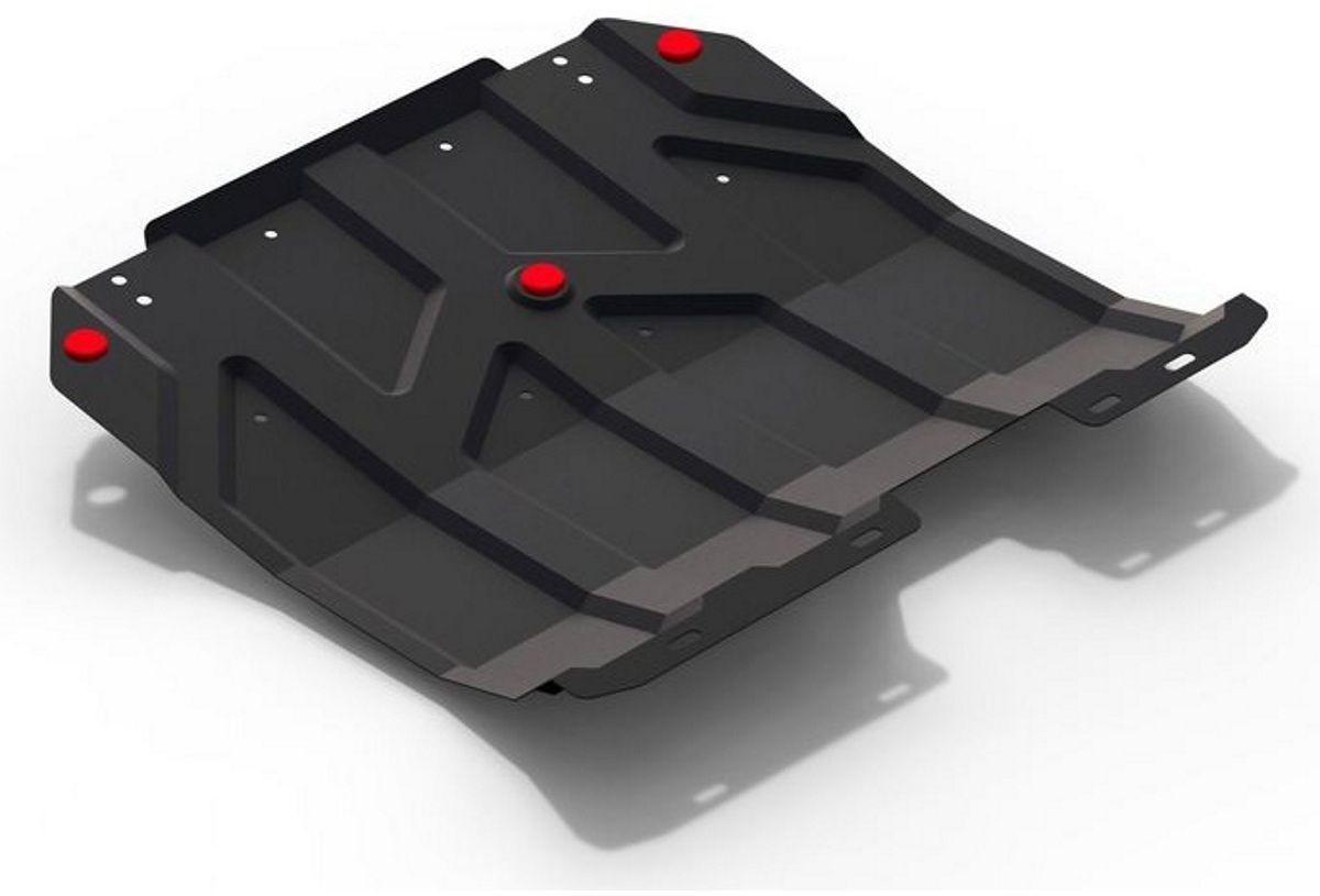 Защита картера и КПП Автоброня Chery Tiggo 5 2014-2016, 2016-, сталь 2 - Тюнинг и защита - Защита внешних частей