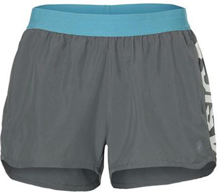 цены Шорты женские Asics Prfm Short, цвет: серый. 155250-0720. Размер M (46)