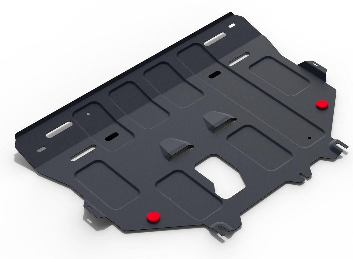 Защита картера и КПП Автоброня Ford Kuga 2013-2016, 2016-, сталь 2 мм111.01860.1Защита картера и КПП Автоброня Ford Kuga 2013-2016, 2016-, V - 1.5 Ecoboost; 1.6; 2.5, сталь 2 мм, комплект крепежа, 111.01860.1Стальные защиты Автоброня надежно защищают ваш автомобиль от повреждений при наезде на бордюры, выступающие канализационные люки, кромки поврежденного асфальта или при ремонте дорог, не говоря уже о загородных дорогах.- Имеют оптимальное соотношение цена-качество.- Спроектированы с учетом особенностей автомобиля, что делает установку удобной.- Защита устанавливается в штатные места кузова автомобиля.- Является надежной защитой для важных элементов на протяжении долгих лет.- Глубокий штамп дополнительно усиливает конструкцию защиты.- Подштамповка в местах крепления защищает крепеж от срезания.- Технологические отверстия там, где они необходимы для смены масла и слива воды, оборудованные заглушками, закрепленными на защите.Толщина стали 2 мм.В комплекте крепеж и инструкция по установке.Уважаемые клиенты!Обращаем ваше внимание, на тот факт, что защита имеет форму, соответствующую модели данного автомобиля. Наличие глубокого штампа и лючков для смены фильтров/масла предусмотрено не на всех защитах. Фото служит для визуального восприятия товара.