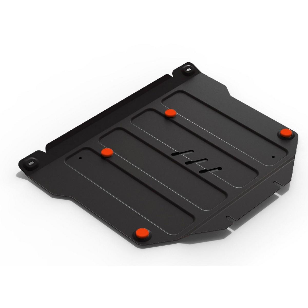 Защита АвтоБРОНЯ для картера и КПП Honda CR-V 2017-, сталь 2 мм, крепеж в комплекте. 111.02131.1