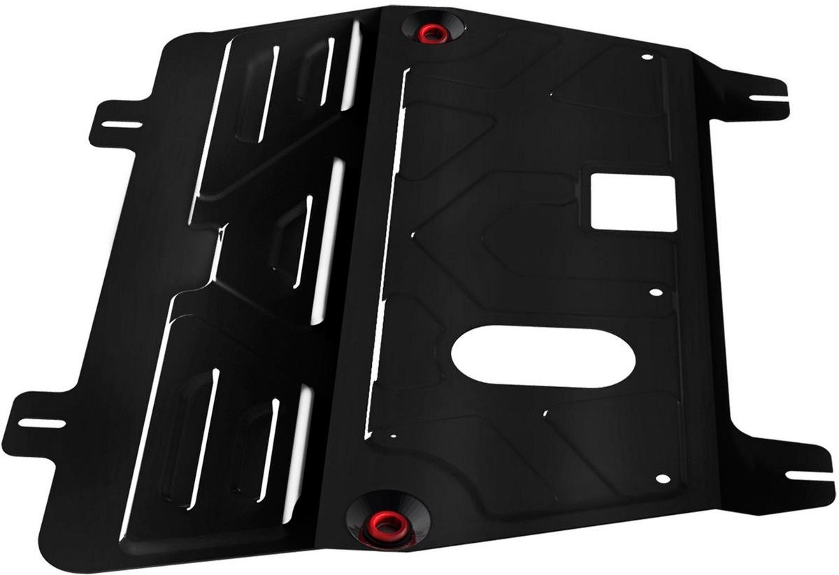 Защита картера и КПП Автоброня Nissan Quashqai 2006-2014/Renault Koleos 2008-, сталь 2 мм111.04111.1Защита картера и КПП Автоброня для Nissan Quashqai, V - 1,6; 2,0 2006-2014/Renault Koleos, V - 2,0; 2,5 2008-, сталь 2 мм, комплект крепежа, 111.04111.1Стальные защиты Автоброня надежно защищают ваш автомобиль от повреждений при наезде на бордюры, выступающие канализационные люки, кромки поврежденного асфальта или при ремонте дорог, не говоря уже о загородных дорогах. - Имеют оптимальное соотношение цена-качество. - Спроектированы с учетом особенностей автомобиля, что делает установку удобной. - Защита устанавливается в штатные места кузова автомобиля. - Является надежной защитой для важных элементов на протяжении долгих лет. - Глубокий штамп дополнительно усиливает конструкцию защиты. - Подштамповка в местах крепления защищает крепеж от срезания. - Технологические отверстия там, где они необходимы для смены масла и слива воды, оборудованные заглушками, закрепленными на защите. Толщина стали 2 мм. В комплекте крепеж и инструкция по установке.Уважаемые клиенты! Обращаем ваше внимание на тот факт, что защита имеет форму, соответствующую модели данного автомобиля. Наличие глубокого штампа и лючков для смены фильтров/масла предусмотрено не на всех защитах. Фото служит для визуального восприятия товара.