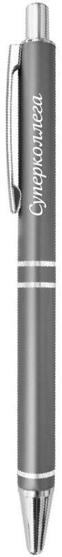 Be happy Ручка шариковая Суперколлега цвет корпуса графит цвет чернил синийEP013Шариковая ручка Суперколлега с вдохновляющей надписью в элегантной подарочной упаковке и универсальном цвете - это прекрасный недорогой подарок, который не только станет знаком внимания и теплых чувств, но и всегда пригодится. Шариковая ручка Elegant pen станет отличным презентом на любой праздник и, когда просто хочется сделать приятно своим близким.