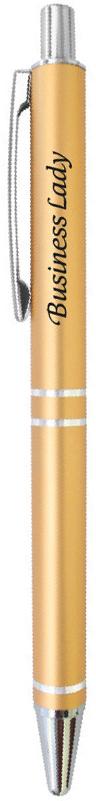 Be happy Ручка шариковая Business lady цвет корпуса золотистый цвет чернил синий german imports schneider signing pen gel pen elegant business 1pcs