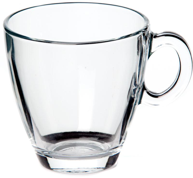 """Чашка """"Pasabahce"""" выполнена из натрий-кальций-силикатного стекла. Изделие оснащено удобной ручкой и сочетает в себе изысканный дизайн и функциональность. Благодаря такой чашке пить напитки будет еще вкуснее. Можно мыть в посудомоечной машине и использовать в микроволновой печи до +70°С."""