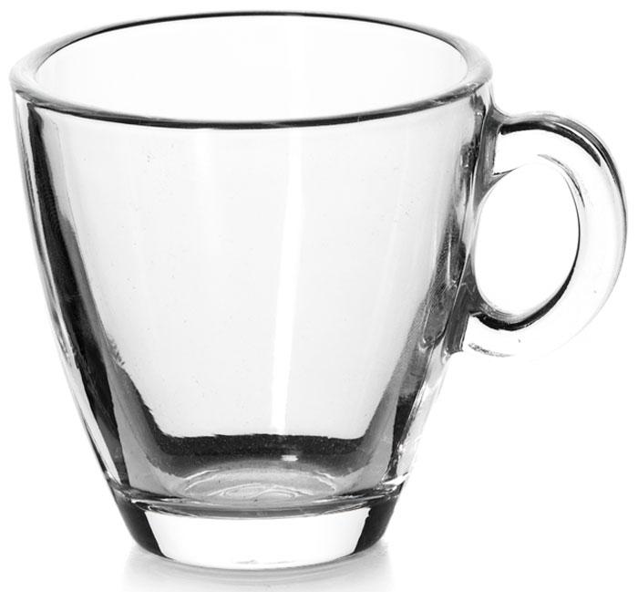 """Чашка """"Pasabahce"""" выполнена из высококачественного стекла. Изделие оснащено удобной ручкой и сочетает в себе изысканный дизайн и функциональность. Благодаря такой чашке пить напитки будет еще вкуснее. Можно мыть в посудомоечной машине и использовать в микроволновой печи до +70°С."""
