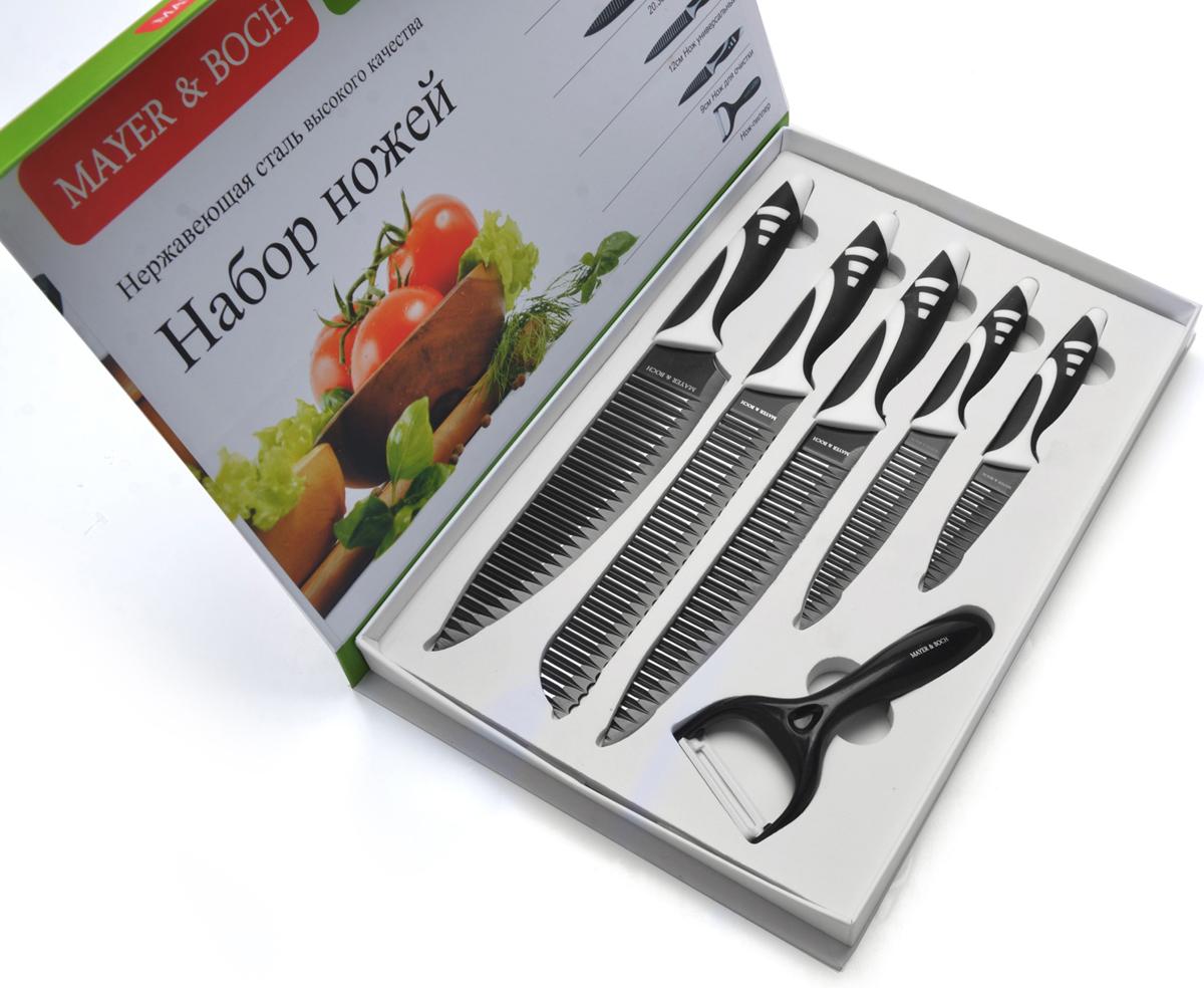 Набор ножей Mayer&Boch, 6 шт. 26993 набор ножей mayer