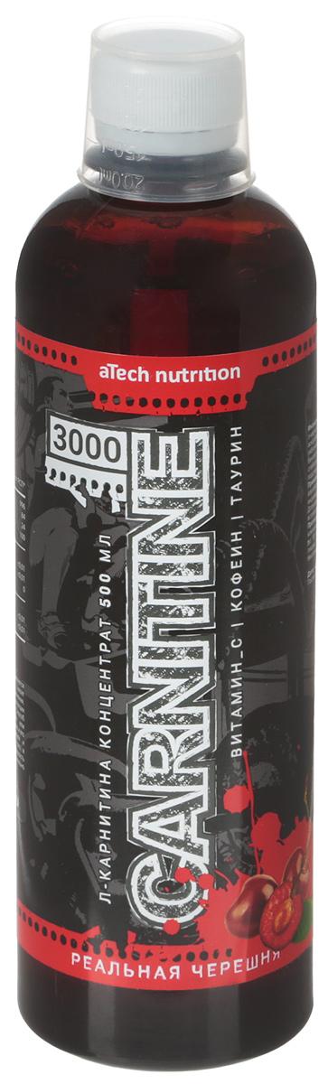 "L-карнитин aTech Nutrition ""L-Carnitine Concentrate 3000"", концентрированный, черешня, 500 мл"