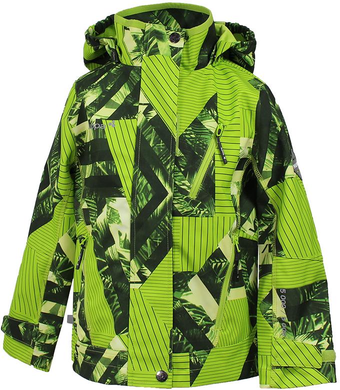 Куртка для мальчика Huppa Jamie, цвет: лайм. 18010000-82447. Размер 11618010000-82447Softshell жакет JAMIE. Водо и воздухонепроницаемость 5 000. Состав: Ткань 3-х слойная ткань, 100% полиэстер, мембрана, флис 100% полиэстер. Отличительные особенности: Карманы на молнии, Отстегивающийся капюшон, Капюшон с резинкой, Регулируемые манжеты. Присутствуют светоотражательные детали.