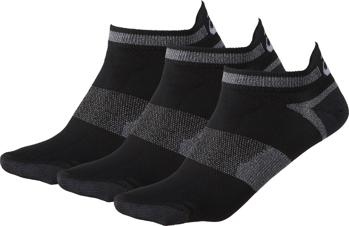 Носки мужские Asics 3PPK LYTE Sock, цвет: черный, 3 пары. 123458-0900. Размер 35/38123458-0900Носки с низкой посадкой от ASICS выполнены из эластичного трикотажа. Модель хорошо поддерживает голеностоп. Плоский шов не натирает кожу. Носки обладают высокой гигроскопичностью и воздухопроницаемостью, хорошо отводят пот и обеспечивают комфорт во время тренировки.