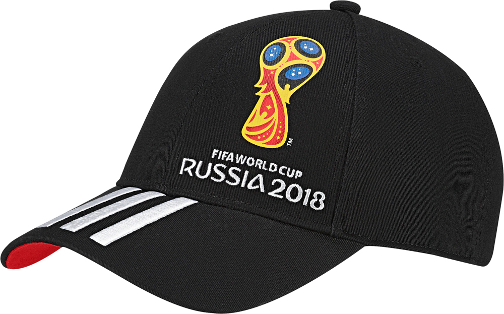 Бейсболка Adidas OE CAP, цвет: черный. CF3399. Размер 54/56CF3399Бейсболка болельщика от adidas с логотипом Чемпионата Мира по футболу в России 2018.